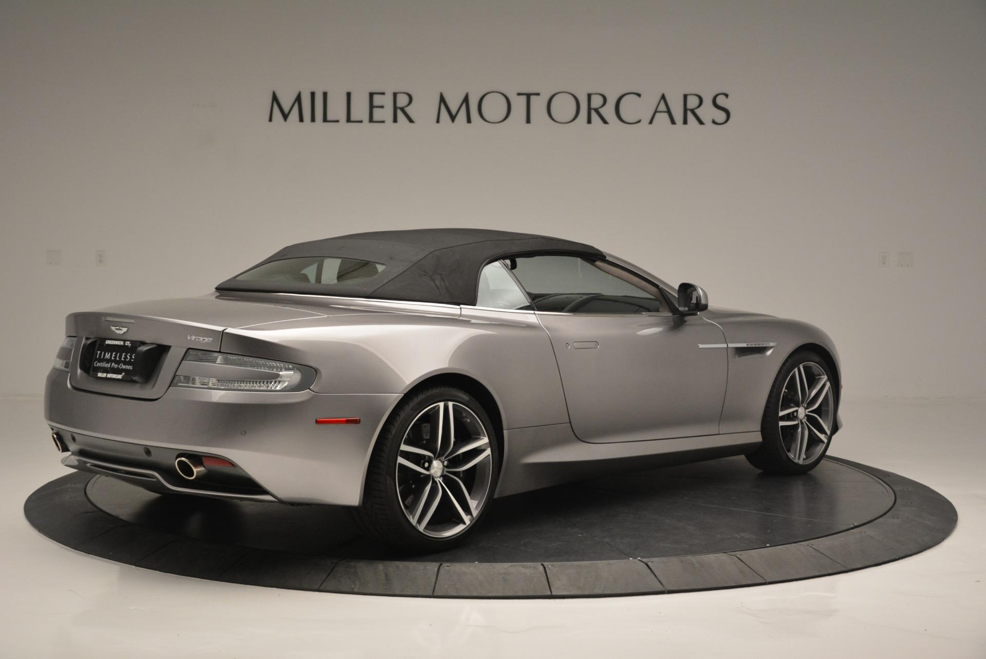 Used 2012 Aston Martin Virage Volante For Sale In Greenwich, CT. Alfa Romeo of Greenwich, A1292A 2378_p20