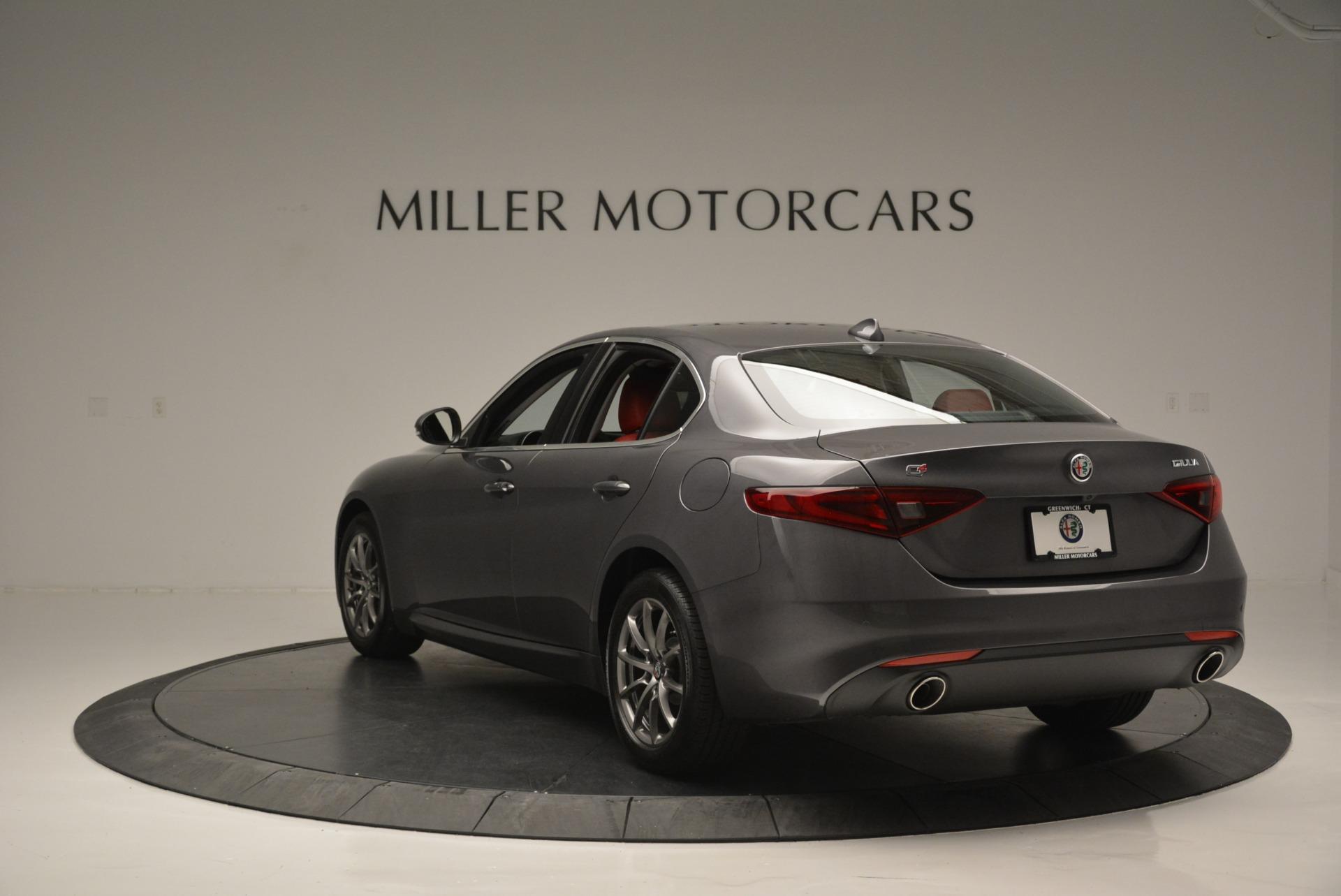 New 2018 Alfa Romeo Giulia Q4 For Sale In Greenwich, CT. Alfa Romeo of Greenwich, L440 2383_p7