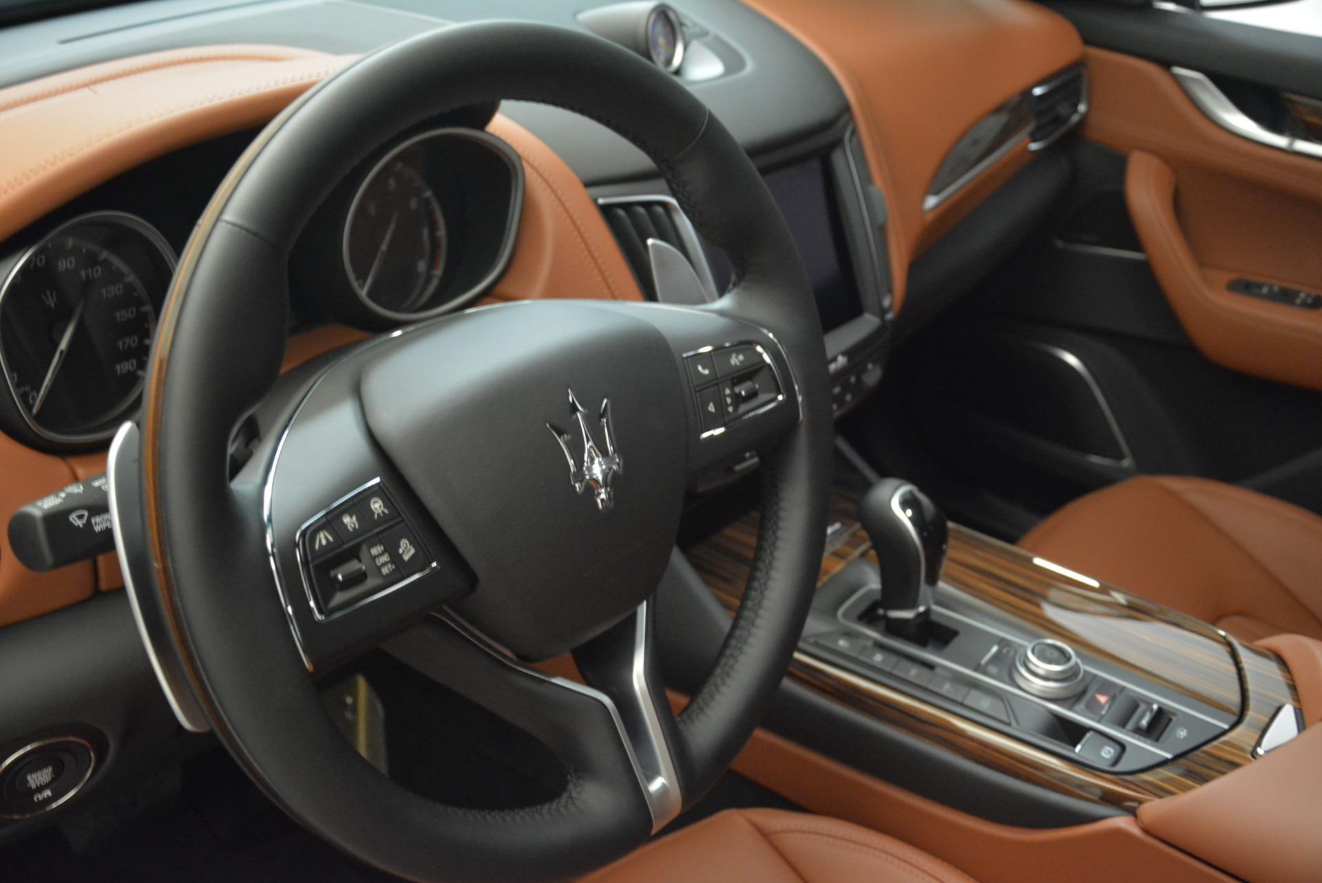New 2018 Maserati Levante S Q4 GranLusso For Sale In Greenwich, CT. Alfa Romeo of Greenwich, W604 2384_p11