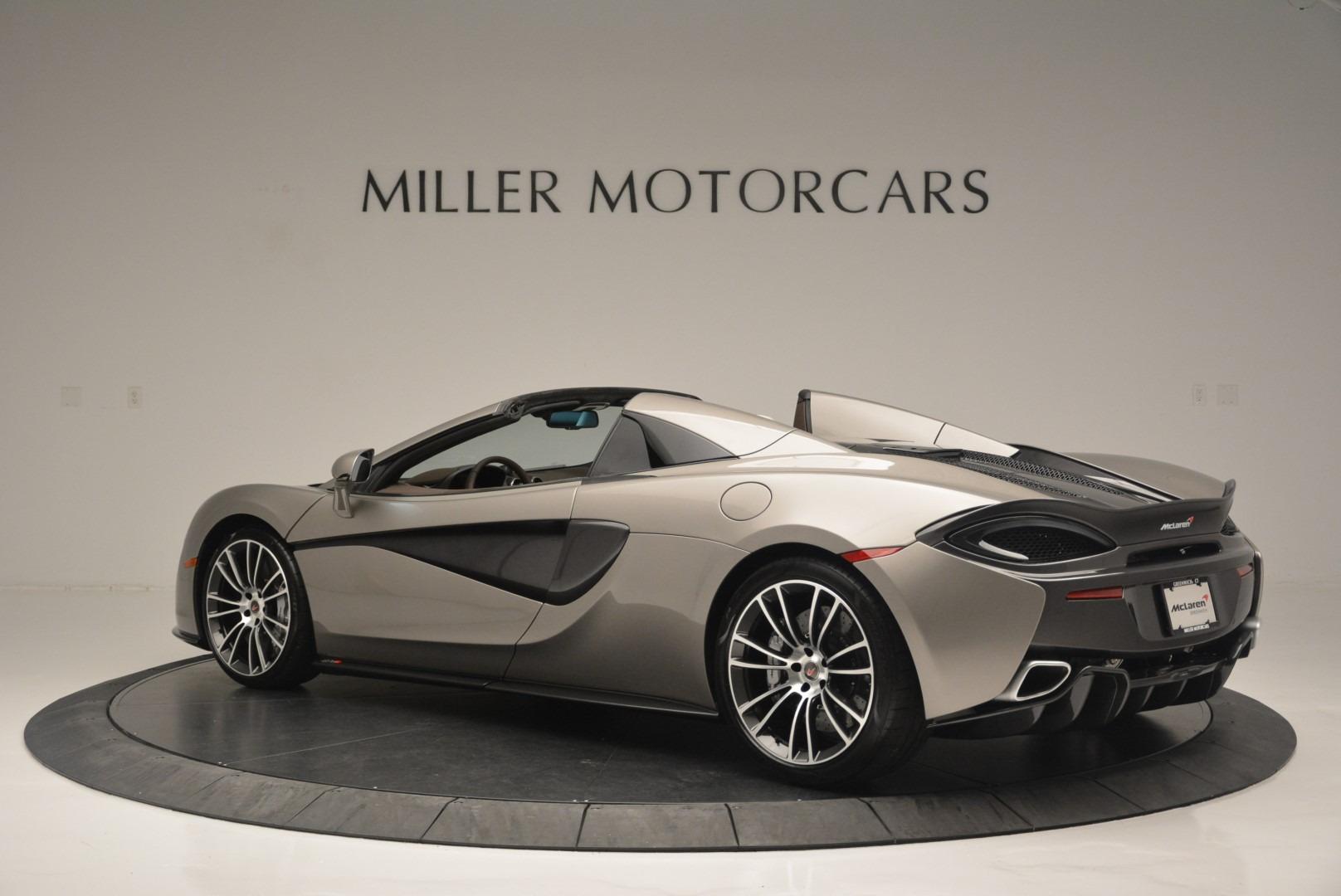 New 2018 McLaren 570S Spider For Sale In Greenwich, CT. Alfa Romeo of Greenwich, MC361 2387_p4