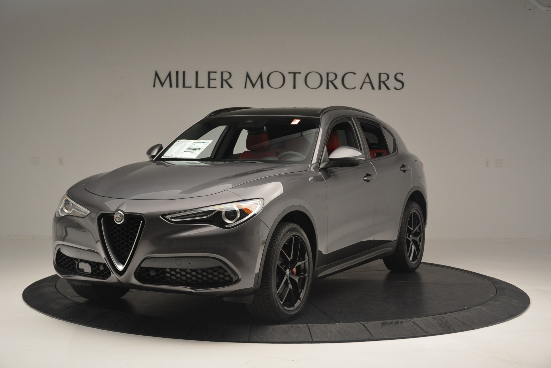 New 2018 Alfa Romeo Stelvio Ti Sport Q4 For Sale In Greenwich, CT. Alfa Romeo of Greenwich, LW202 2393_main