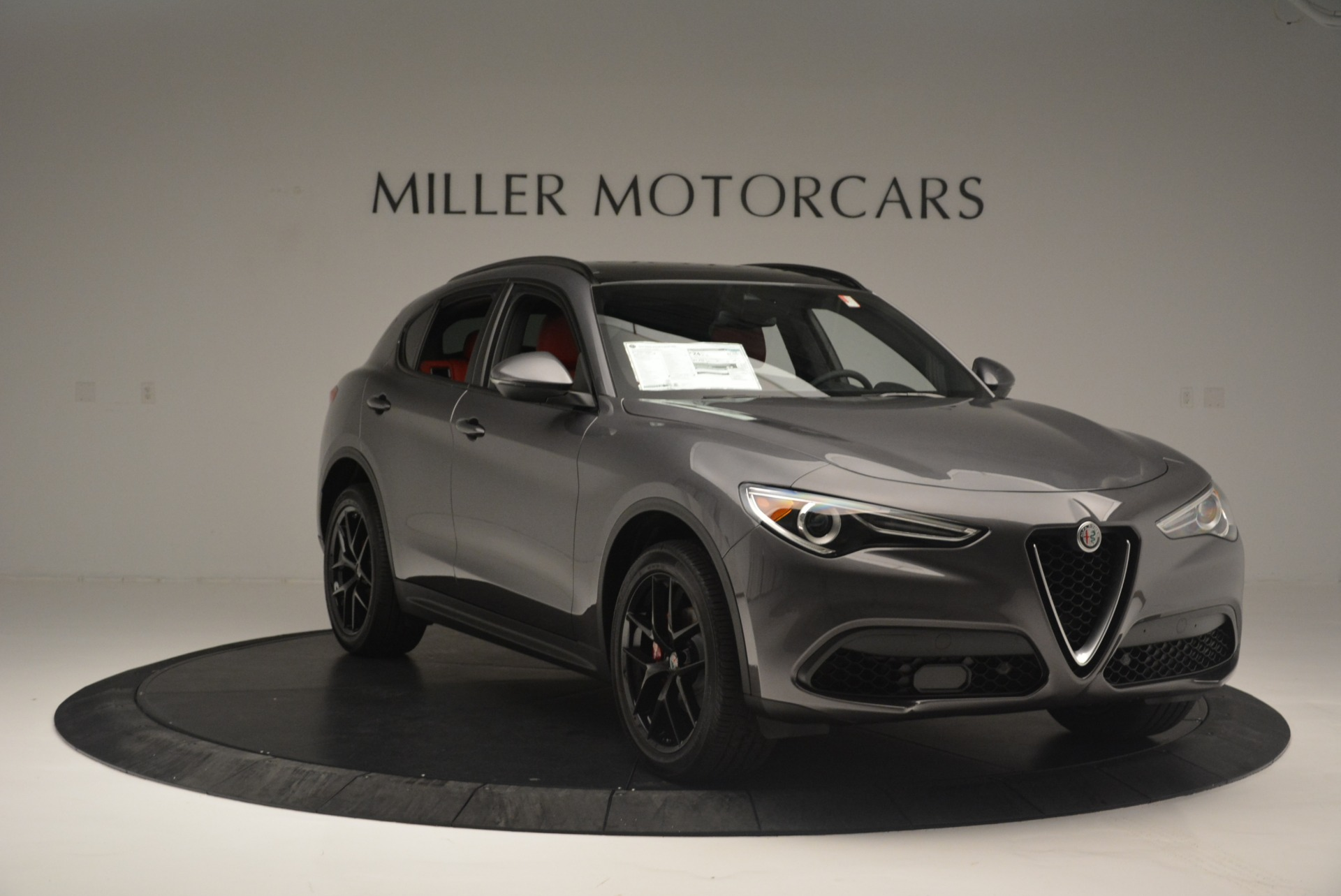 New 2018 Alfa Romeo Stelvio Ti Sport Q4 For Sale In Greenwich, CT. Alfa Romeo of Greenwich, LW202 2393_p11