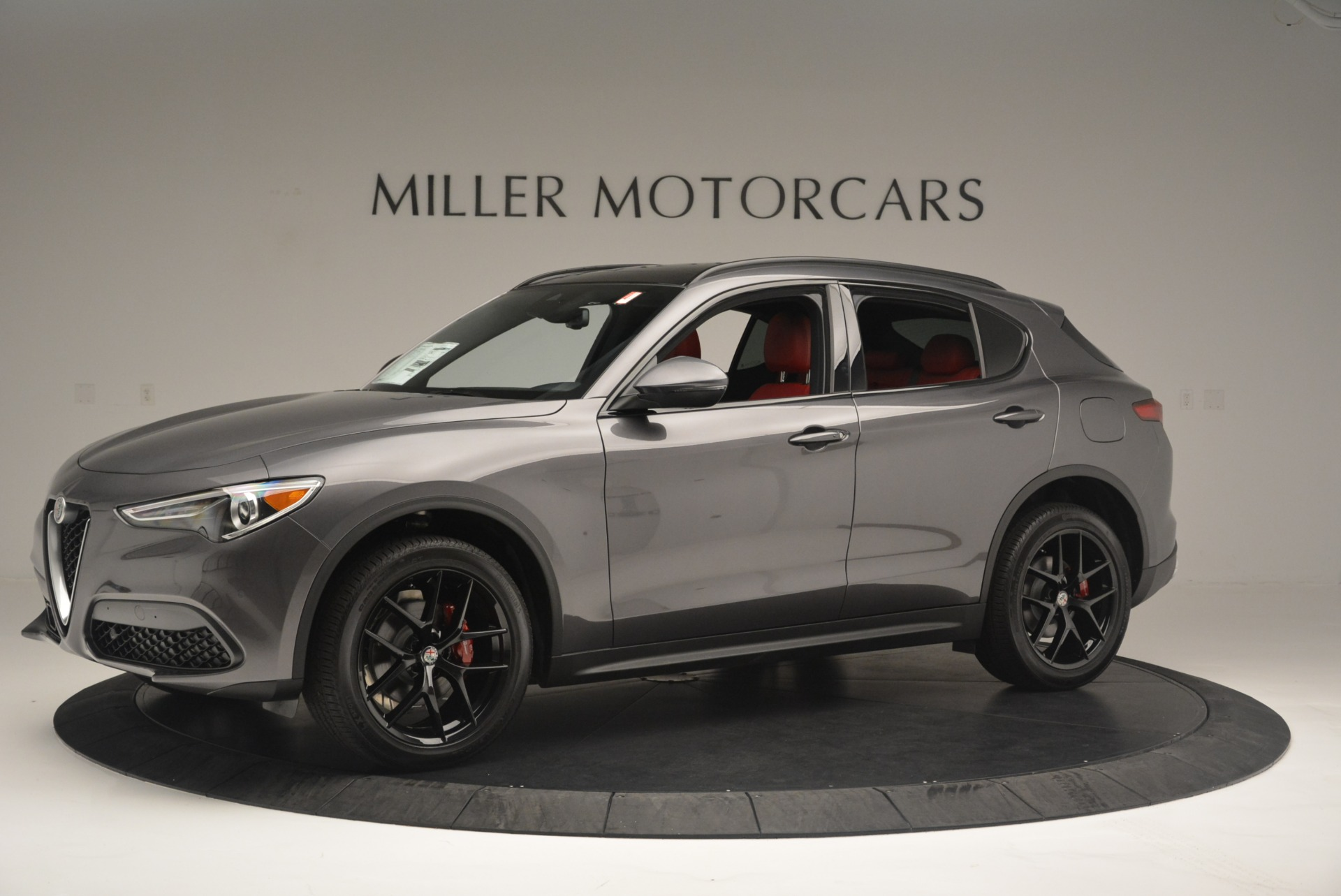 New 2018 Alfa Romeo Stelvio Ti Sport Q4 For Sale In Greenwich, CT. Alfa Romeo of Greenwich, LW202 2393_p2