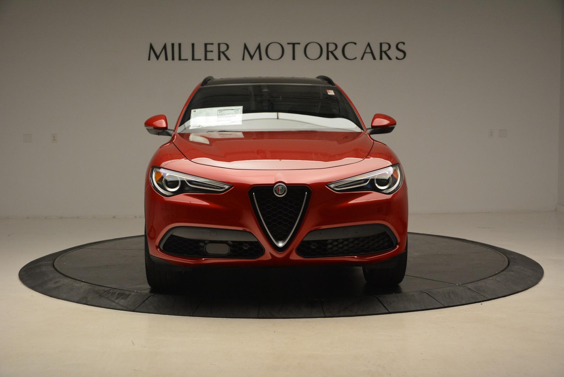 New 2018 Alfa Romeo Stelvio Ti Sport Q4 For Sale In Greenwich, CT. Alfa Romeo of Greenwich, L444 2407_p12