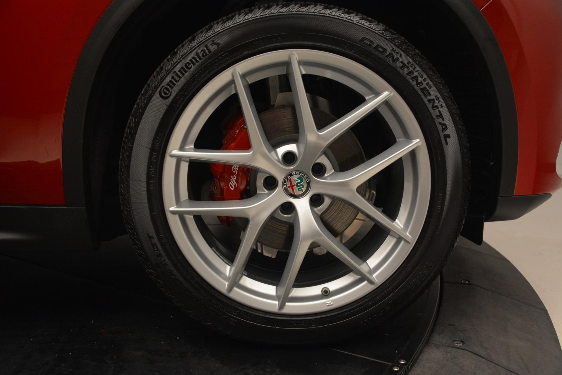 New 2018 Alfa Romeo Stelvio Ti Sport Q4 For Sale In Greenwich, CT. Alfa Romeo of Greenwich, L444 2407_p13