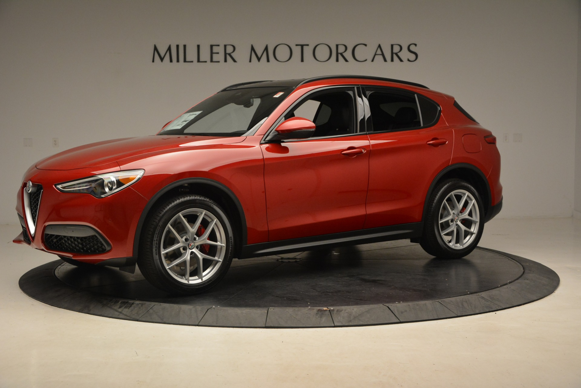 New 2018 Alfa Romeo Stelvio Ti Sport Q4 For Sale In Greenwich, CT. Alfa Romeo of Greenwich, L444 2407_p2
