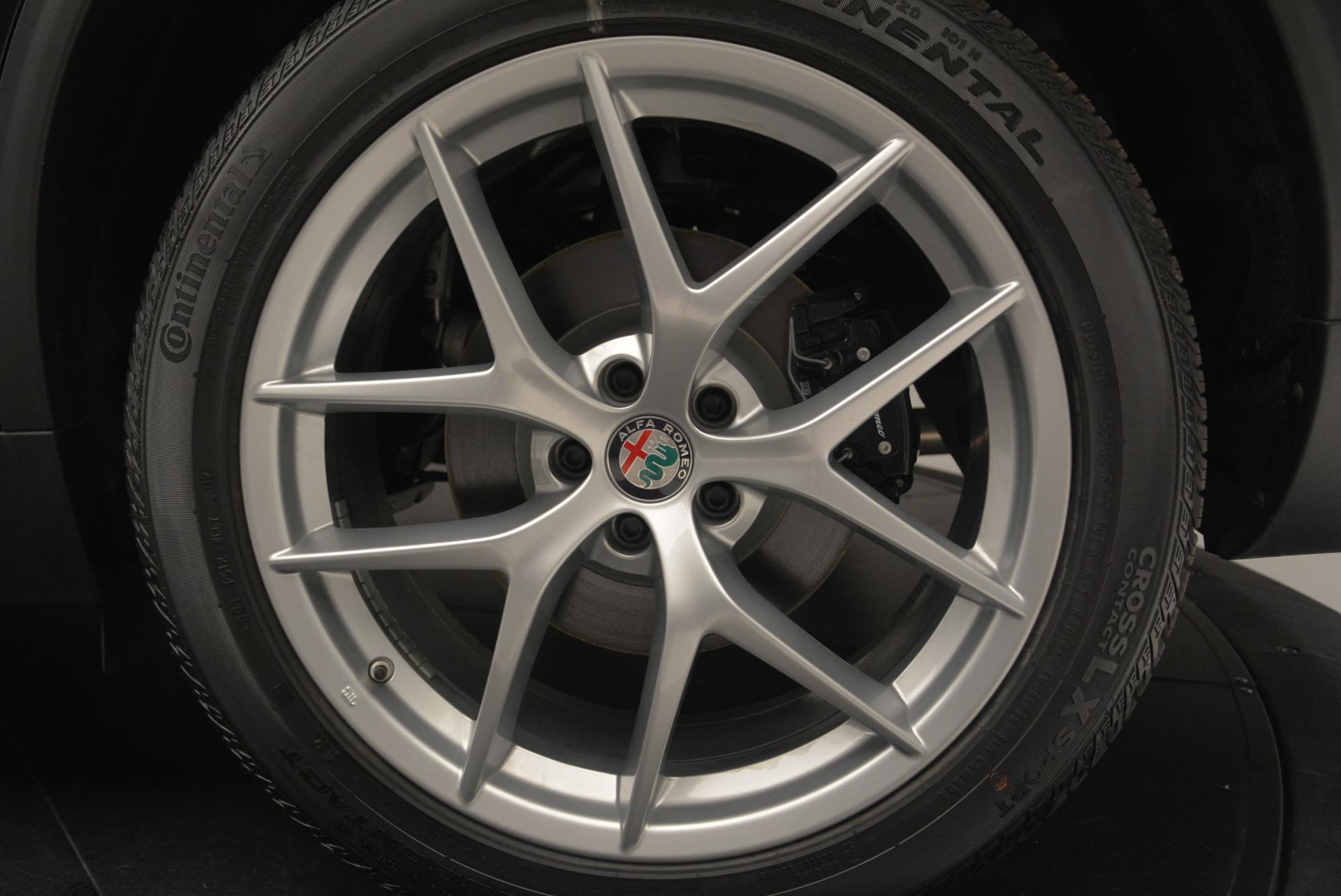 New 2018 Alfa Romeo Stelvio Ti Sport Q4 For Sale In Greenwich, CT. Alfa Romeo of Greenwich, L445 2408_p31