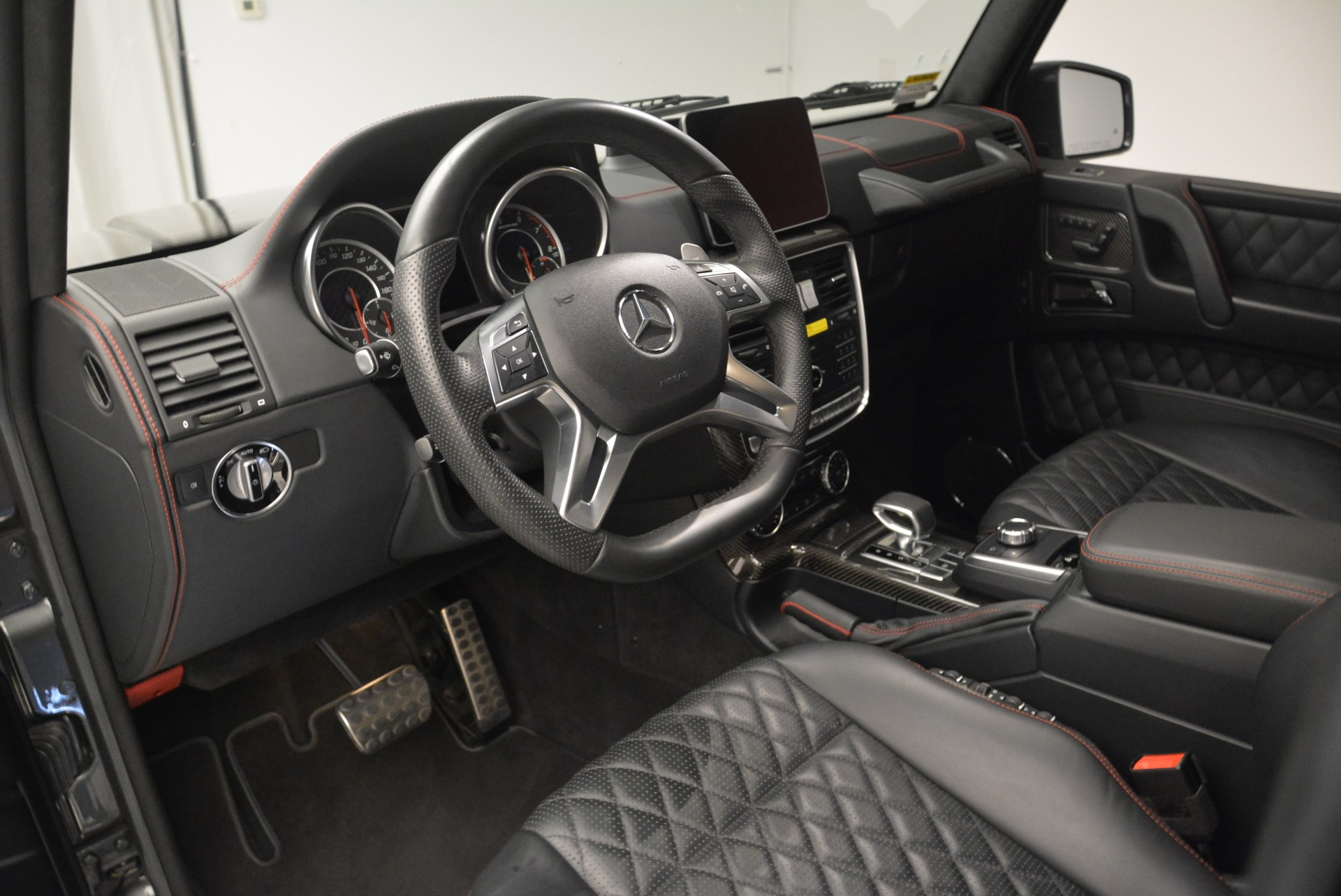 Used 2017 Mercedes-Benz G-Class AMG G 63 For Sale In Greenwich, CT. Alfa Romeo of Greenwich, L406A 2409_p13