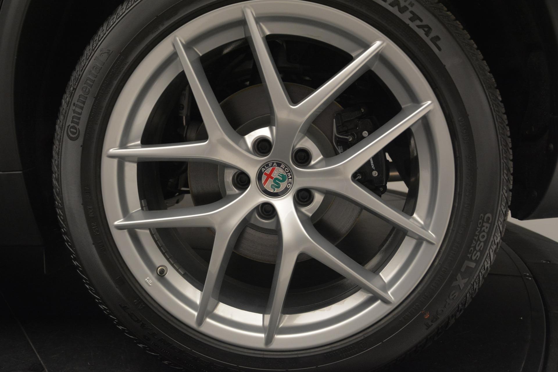 New 2018 Alfa Romeo Stelvio Ti Q4 For Sale In Greenwich, CT. Alfa Romeo of Greenwich, LW210 2418_p8