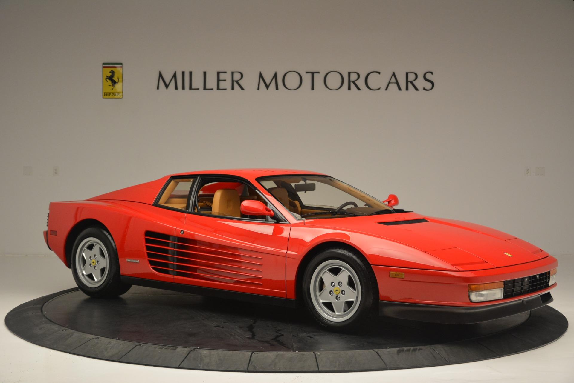 Used 1990 Ferrari Testarossa  For Sale In Greenwich, CT. Alfa Romeo of Greenwich, 4461A 2419_p10