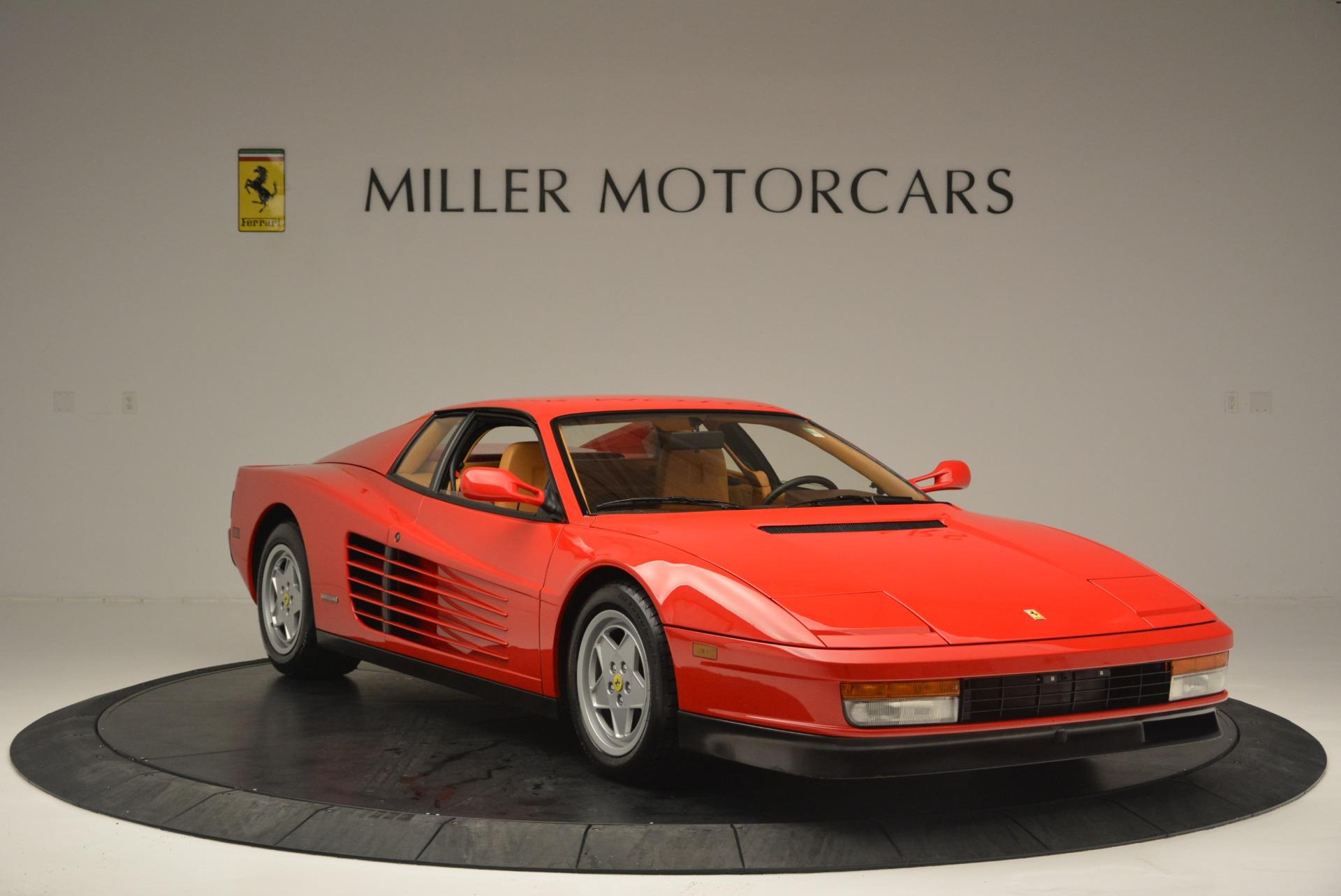 Used 1990 Ferrari Testarossa  For Sale In Greenwich, CT. Alfa Romeo of Greenwich, 4461A 2419_p11