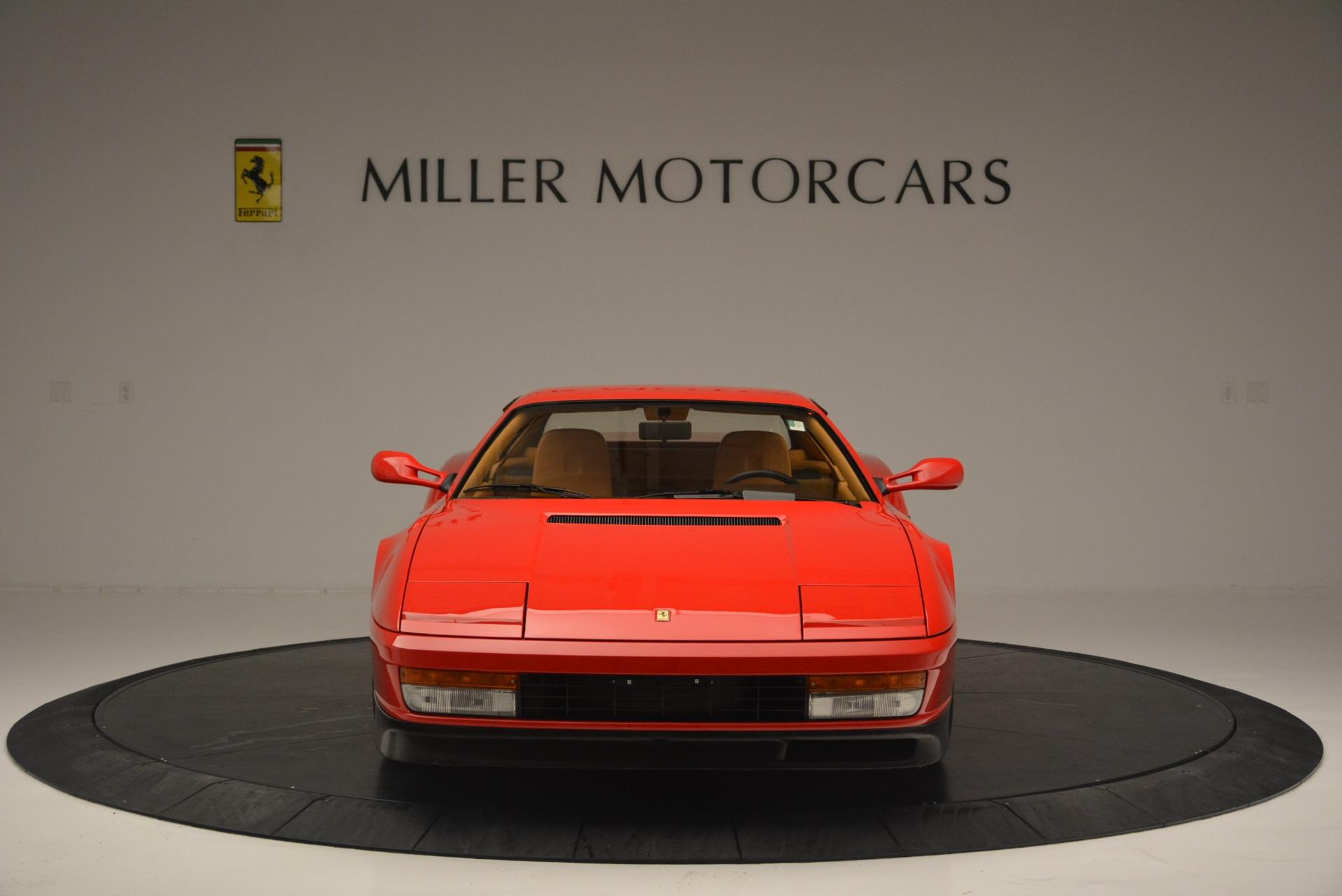 Used 1990 Ferrari Testarossa  For Sale In Greenwich, CT. Alfa Romeo of Greenwich, 4461A 2419_p12
