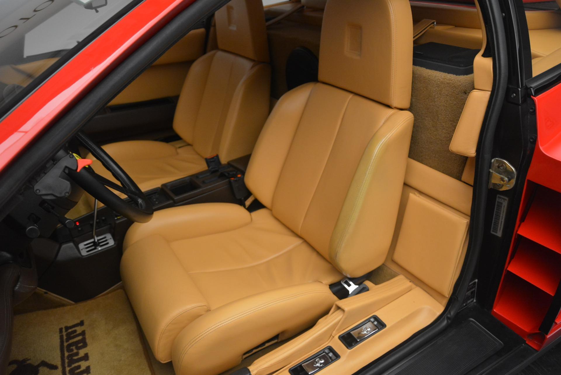 Used 1990 Ferrari Testarossa  For Sale In Greenwich, CT. Alfa Romeo of Greenwich, 4461A 2419_p15