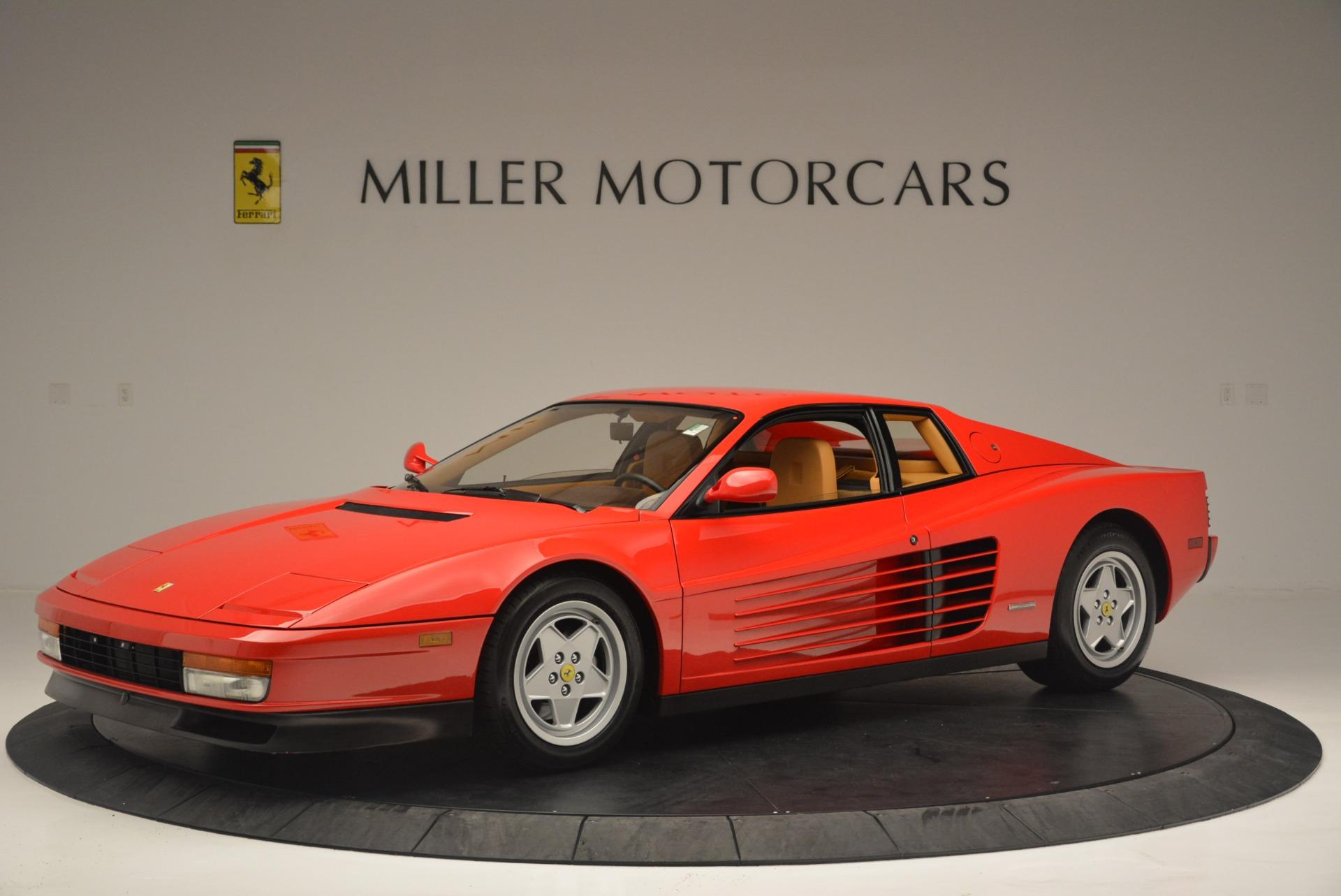 Used 1990 Ferrari Testarossa  For Sale In Greenwich, CT. Alfa Romeo of Greenwich, 4461A 2419_p2