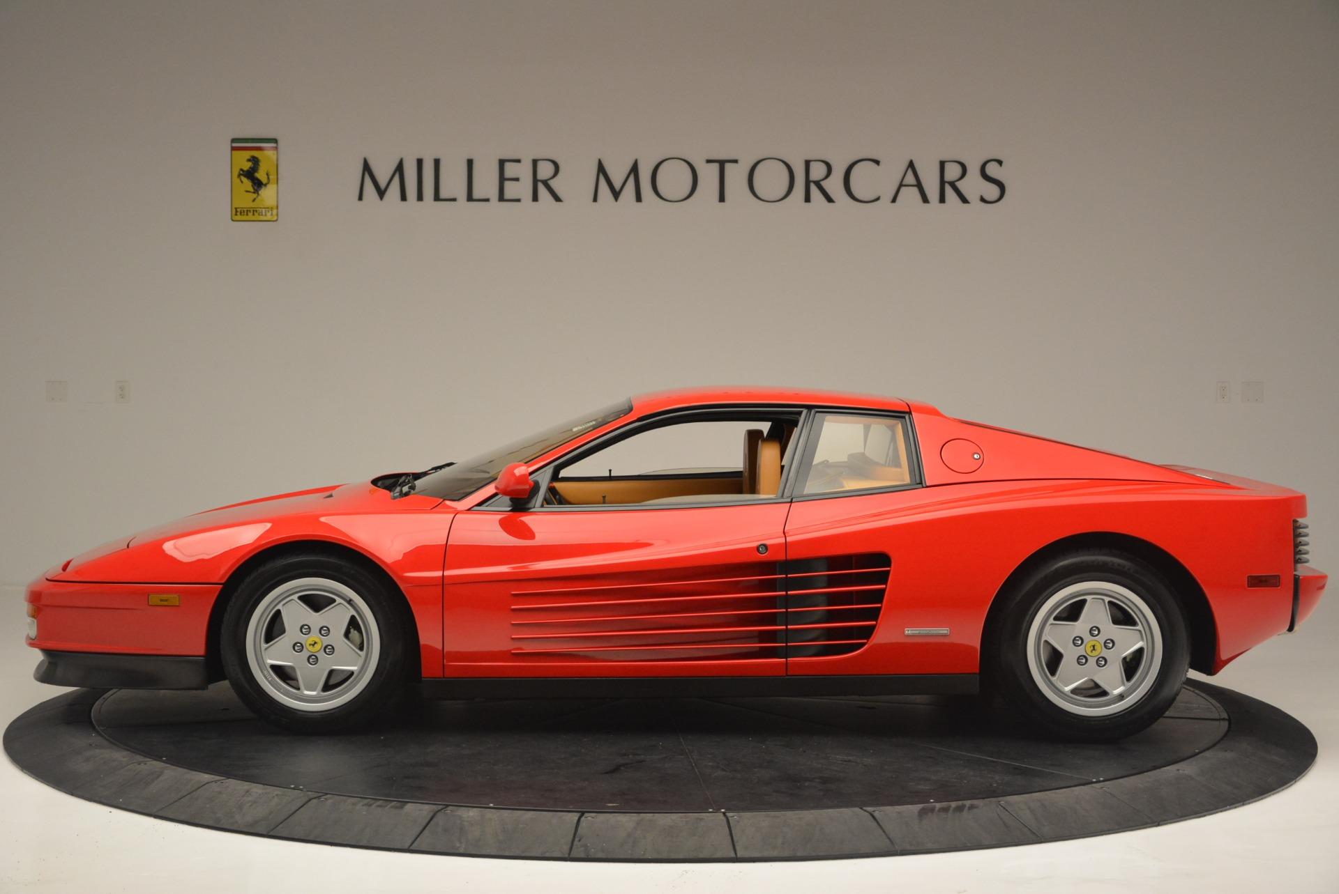 Used 1990 Ferrari Testarossa  For Sale In Greenwich, CT. Alfa Romeo of Greenwich, 4461A 2419_p3