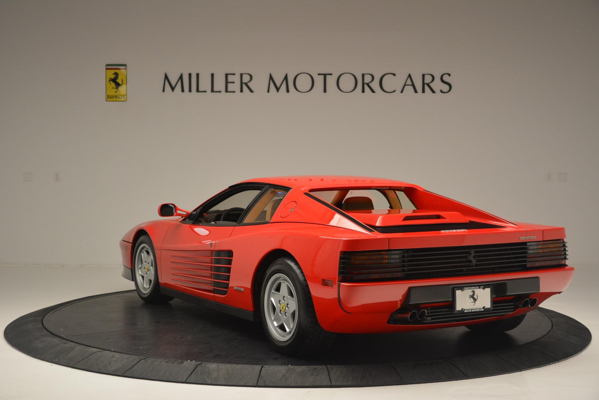 Used 1990 Ferrari Testarossa  For Sale In Greenwich, CT. Alfa Romeo of Greenwich, 4461A 2419_p5