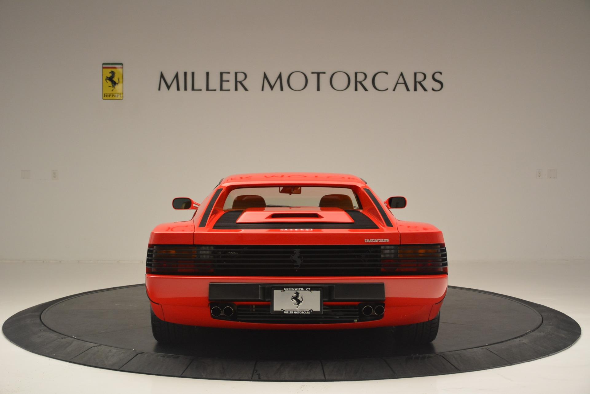 Used 1990 Ferrari Testarossa  For Sale In Greenwich, CT. Alfa Romeo of Greenwich, 4461A 2419_p6