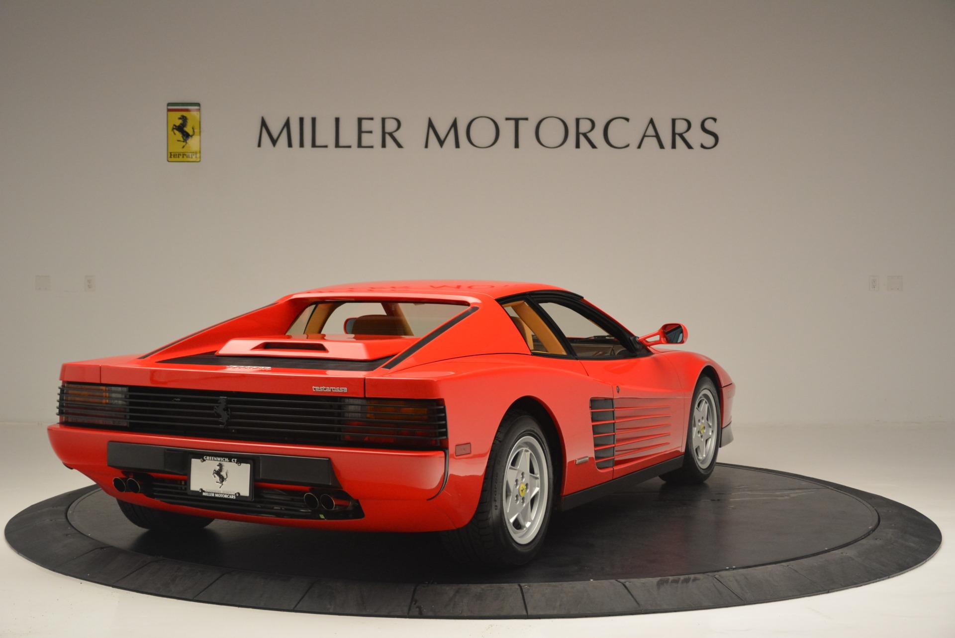 Used 1990 Ferrari Testarossa  For Sale In Greenwich, CT. Alfa Romeo of Greenwich, 4461A 2419_p7