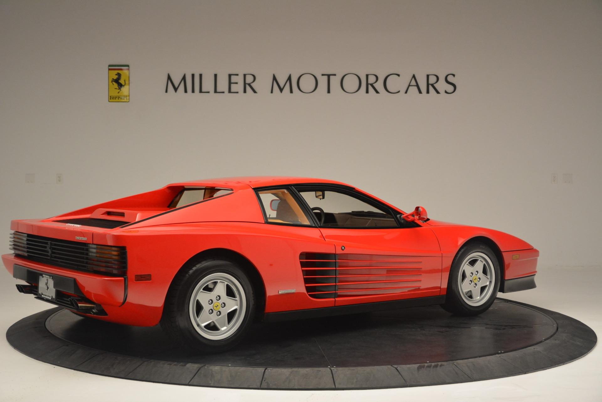 Used 1990 Ferrari Testarossa  For Sale In Greenwich, CT. Alfa Romeo of Greenwich, 4461A 2419_p8