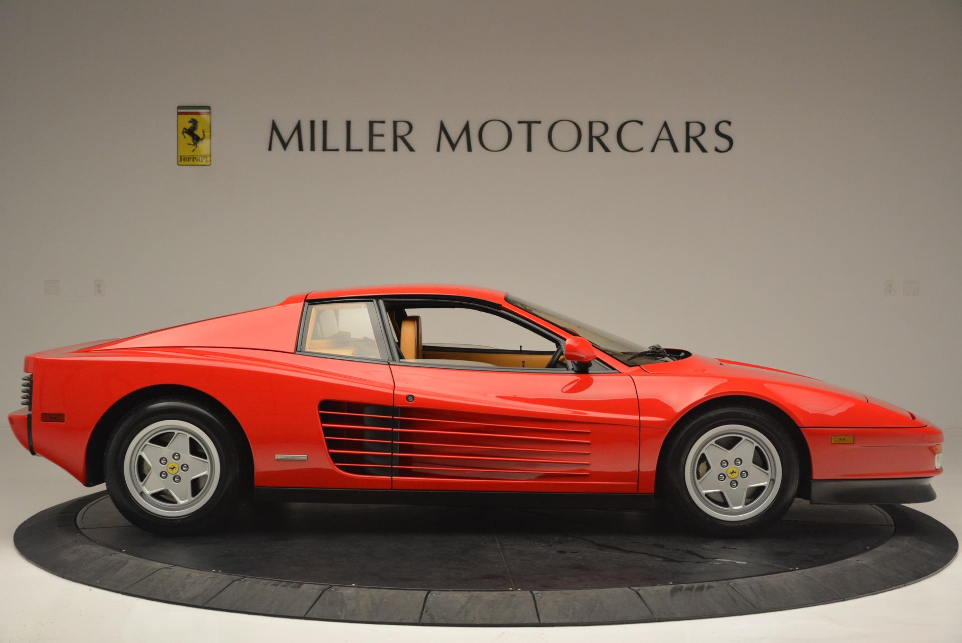 Used 1990 Ferrari Testarossa  For Sale In Greenwich, CT. Alfa Romeo of Greenwich, 4461A 2419_p9