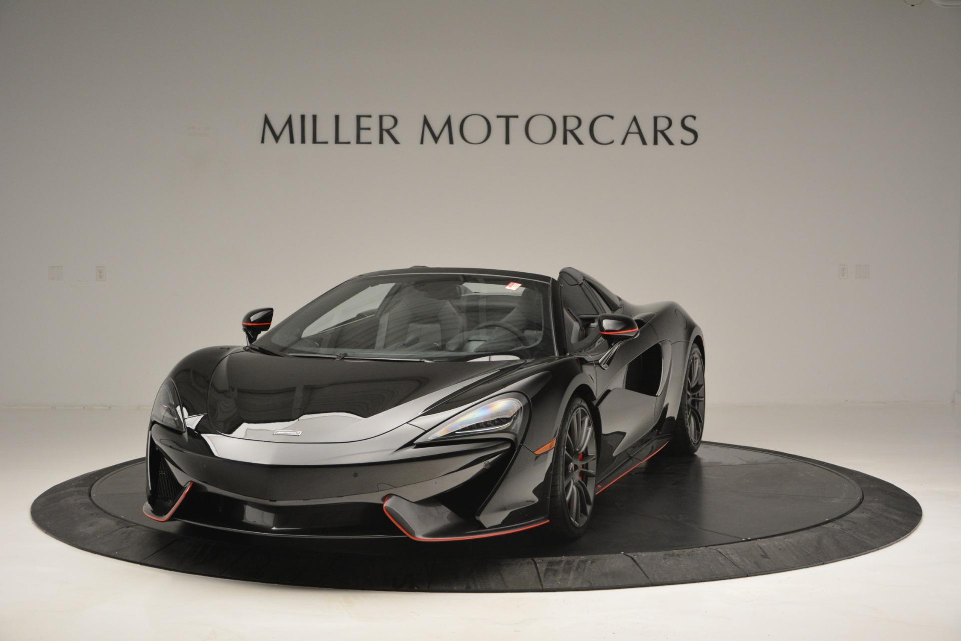 Used 2018 McLaren 570S Spider For Sale In Greenwich, CT. Alfa Romeo of Greenwich, MC371 2420_main