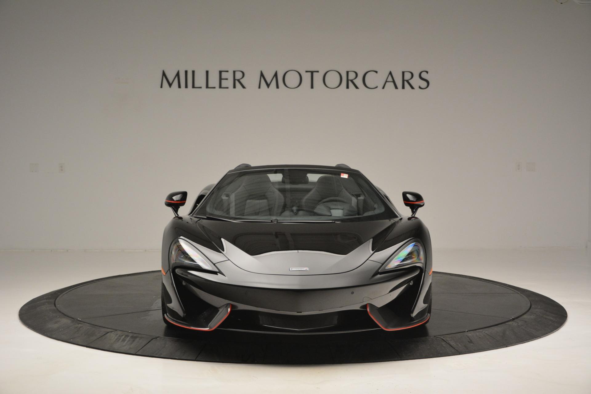 Used 2018 McLaren 570S Spider For Sale In Greenwich, CT. Alfa Romeo of Greenwich, MC371 2420_p12