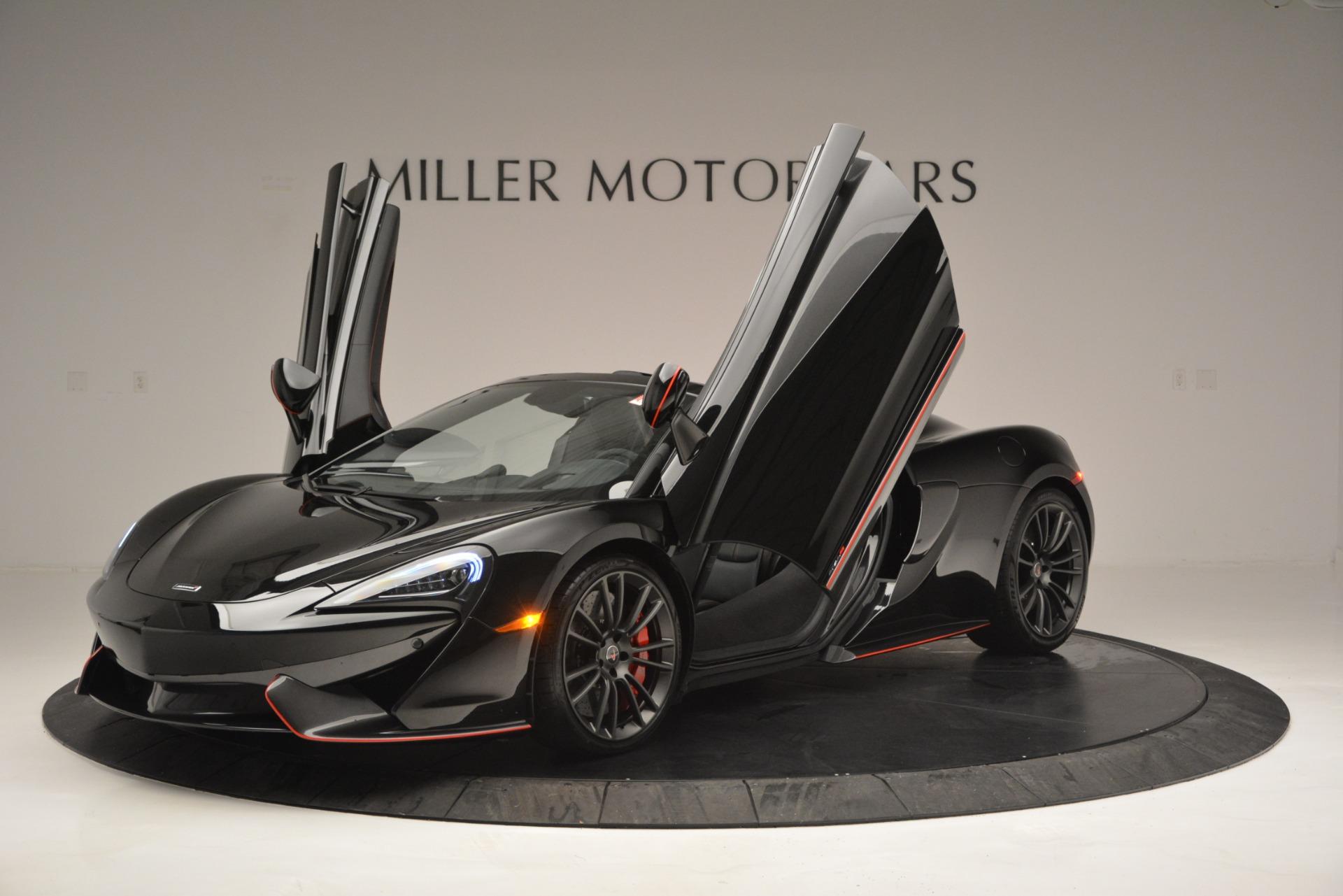 Used 2018 McLaren 570S Spider For Sale In Greenwich, CT. Alfa Romeo of Greenwich, MC371 2420_p14