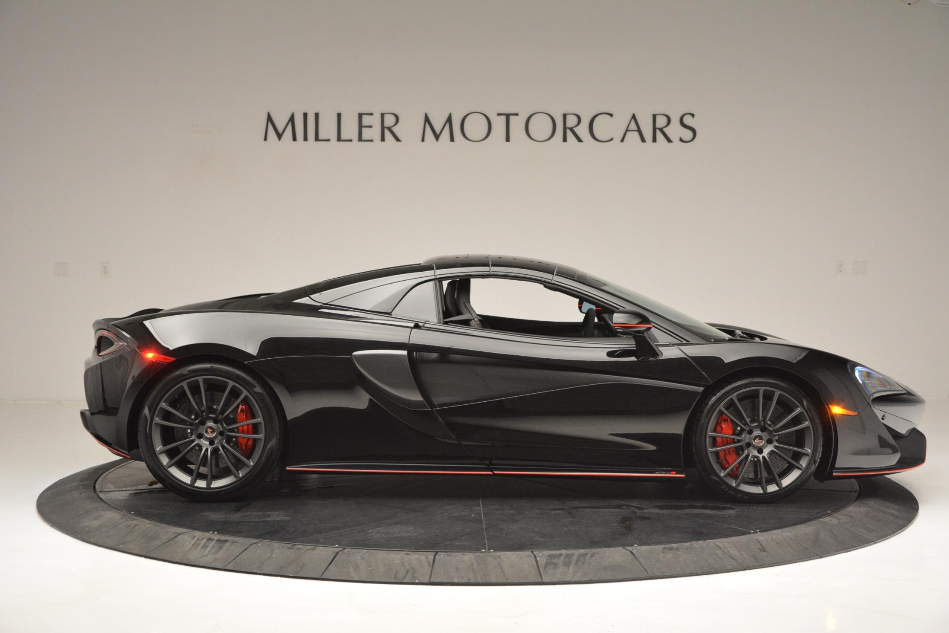 Used 2018 McLaren 570S Spider For Sale In Greenwich, CT. Alfa Romeo of Greenwich, MC371 2420_p20