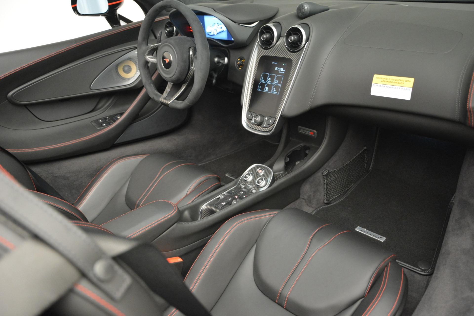 Used 2018 McLaren 570S Spider For Sale In Greenwich, CT. Alfa Romeo of Greenwich, MC371 2420_p26