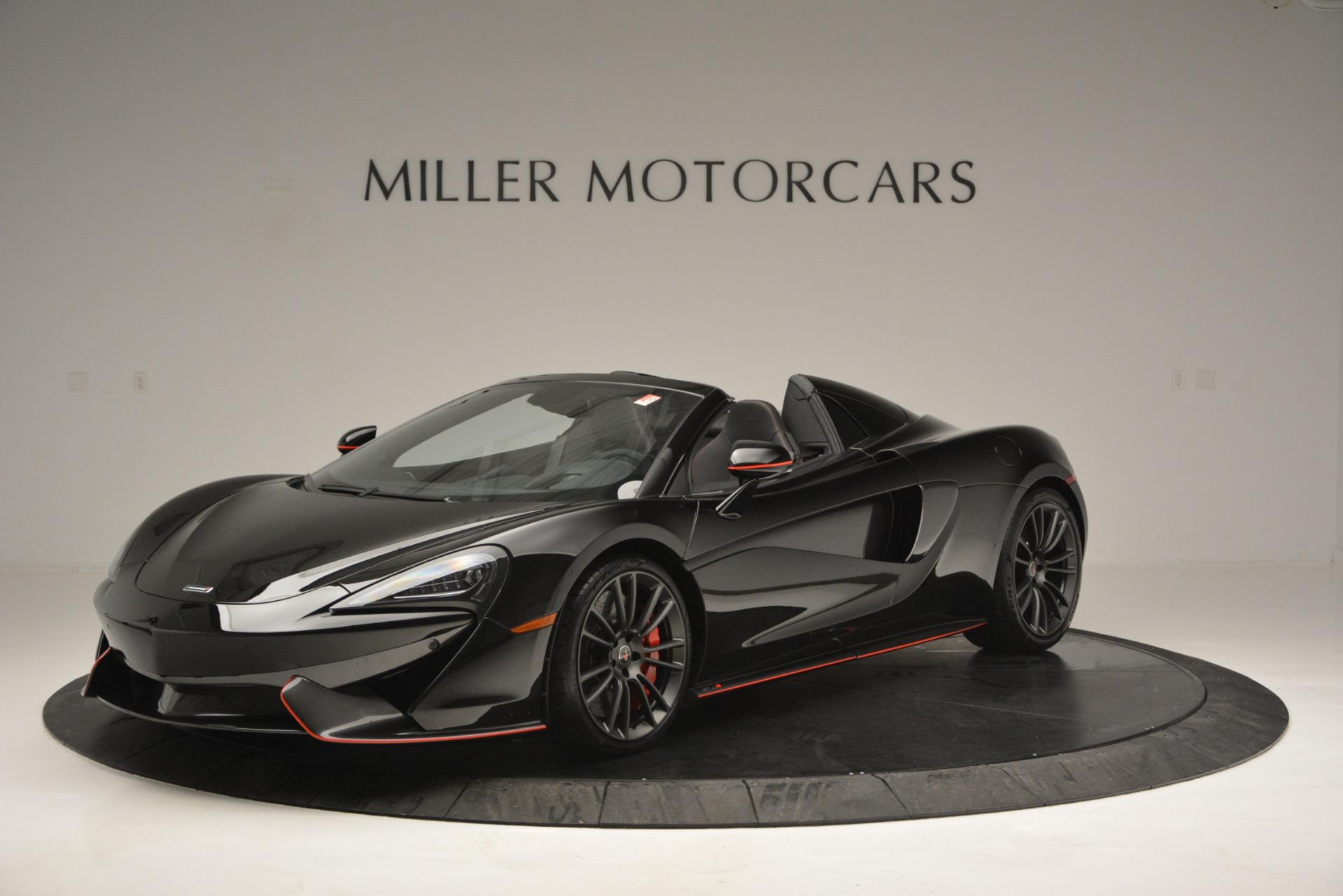 Used 2018 McLaren 570S Spider For Sale In Greenwich, CT. Alfa Romeo of Greenwich, MC371 2420_p2