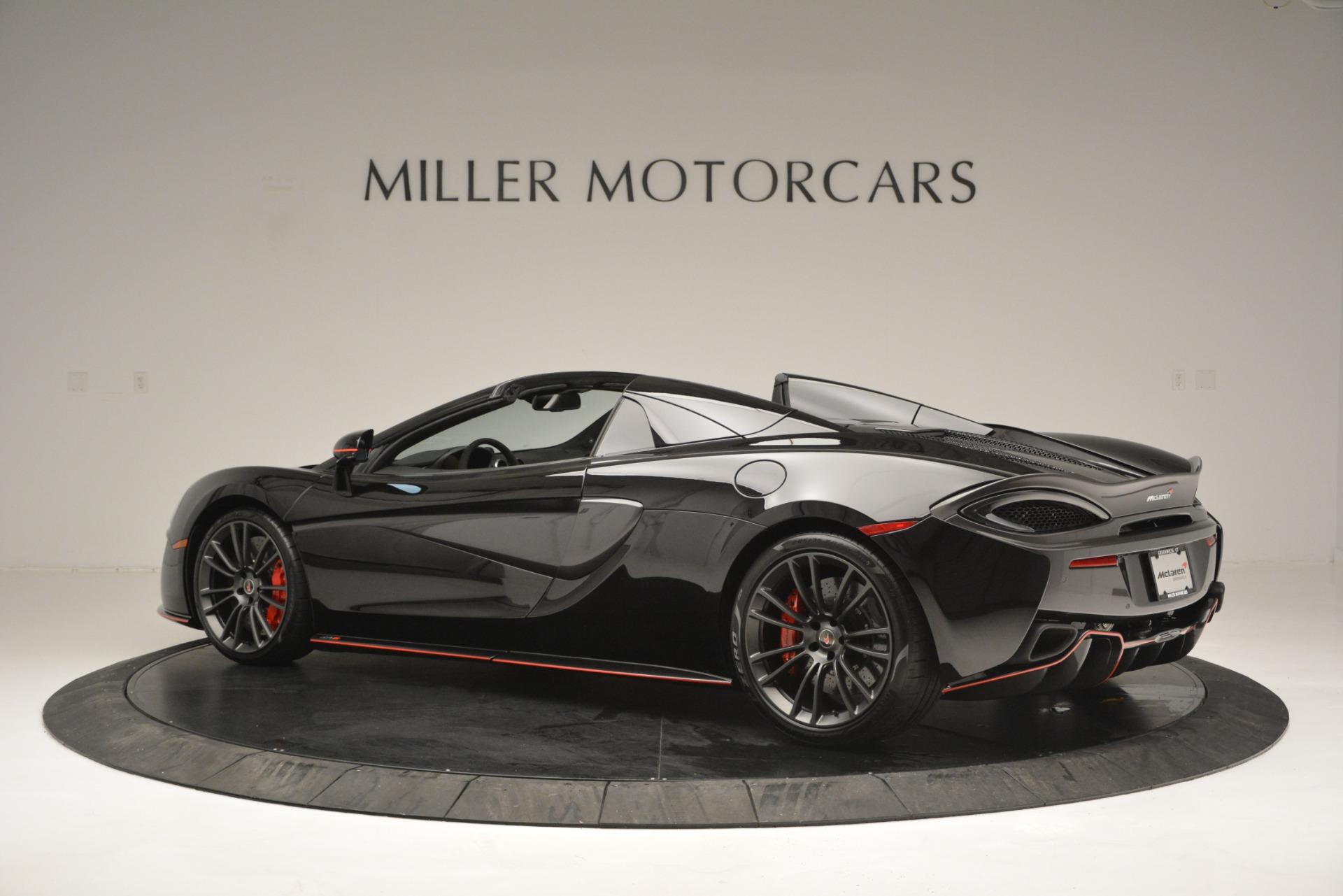 Used 2018 McLaren 570S Spider For Sale In Greenwich, CT. Alfa Romeo of Greenwich, MC371 2420_p4