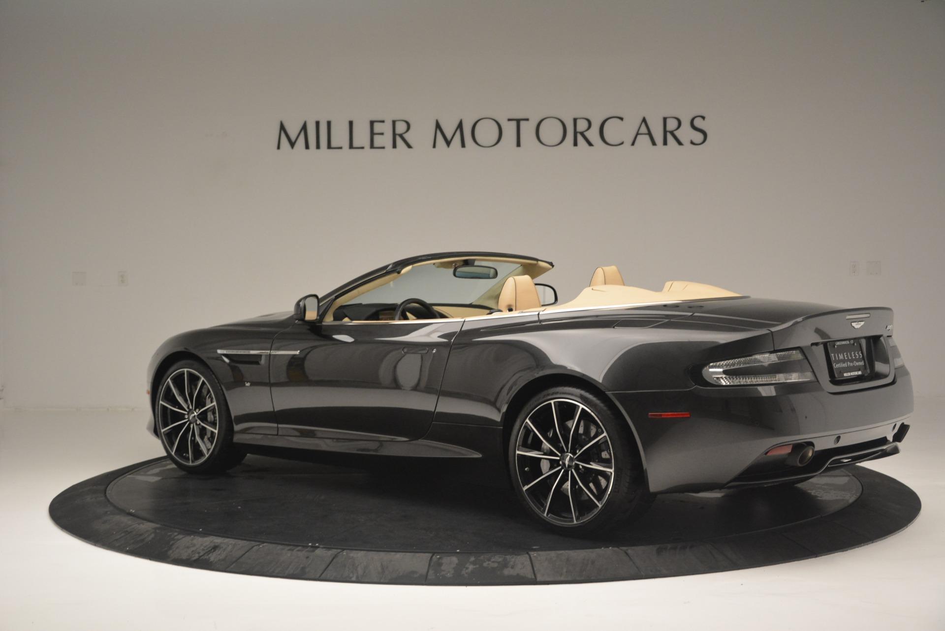 Used 2016 Aston Martin DB9 GT Volante For Sale In Greenwich, CT. Alfa Romeo of Greenwich, 7401 2429_p4