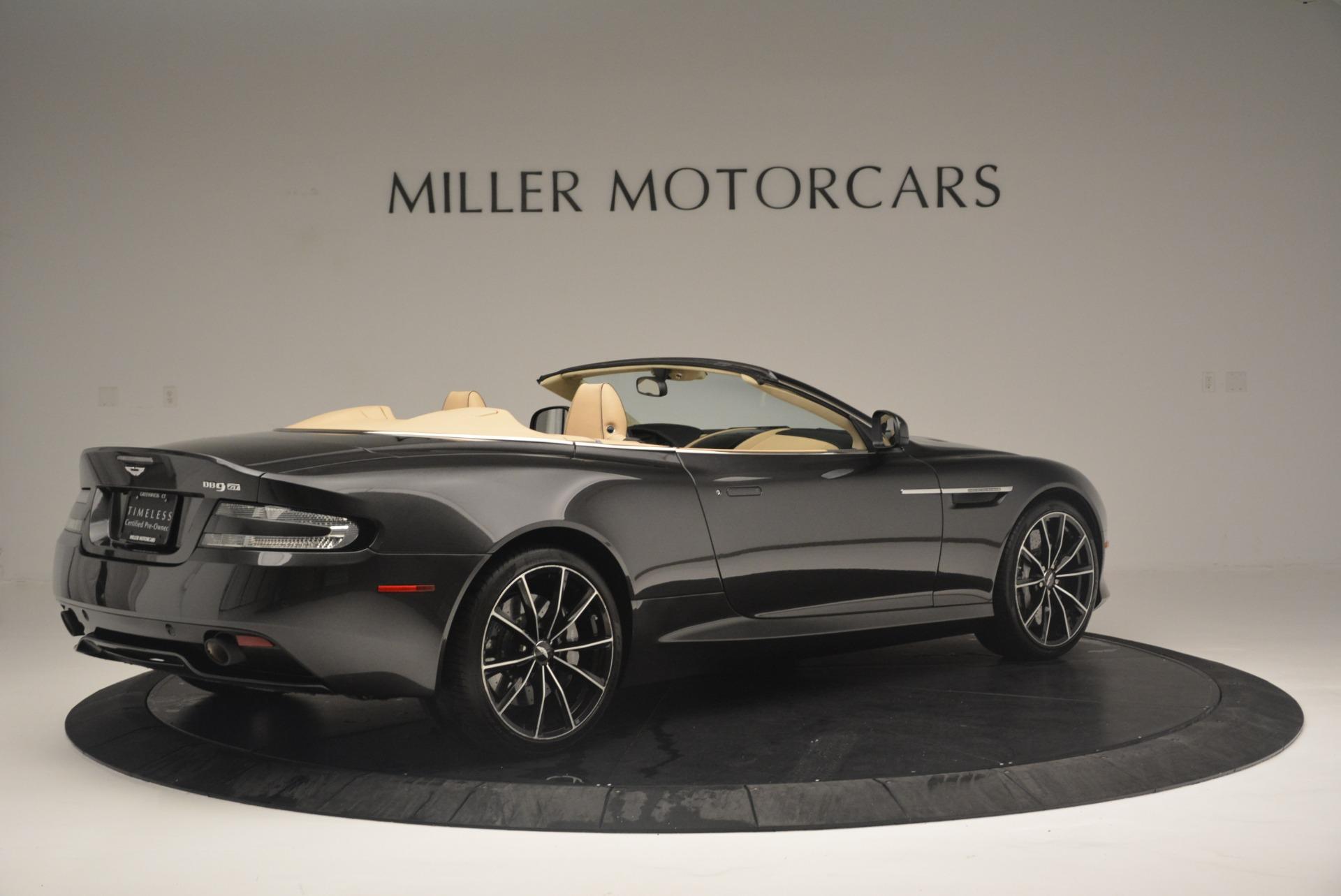 Used 2016 Aston Martin DB9 GT Volante For Sale In Greenwich, CT. Alfa Romeo of Greenwich, 7401 2429_p8