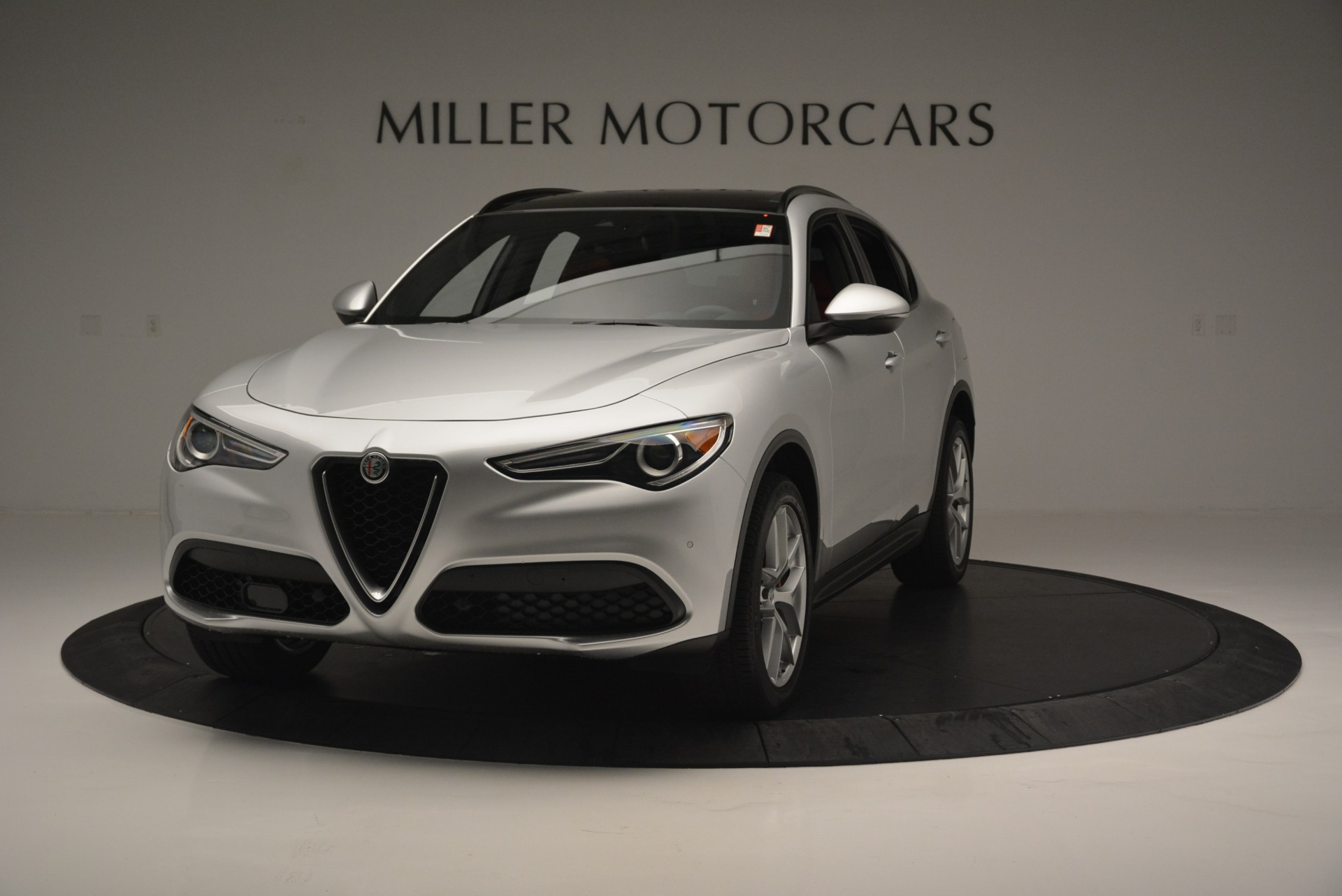 New 2018 Alfa Romeo Stelvio Ti Sport Q4 For Sale In Greenwich, CT. Alfa Romeo of Greenwich, L454