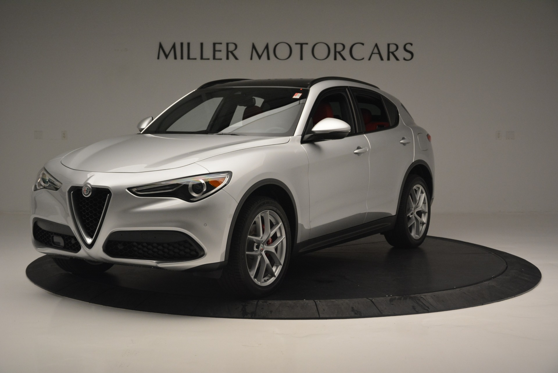 New 2018 Alfa Romeo Stelvio Ti Sport Q4 For Sale In Greenwich, CT. Alfa Romeo of Greenwich, L454 2434_p2