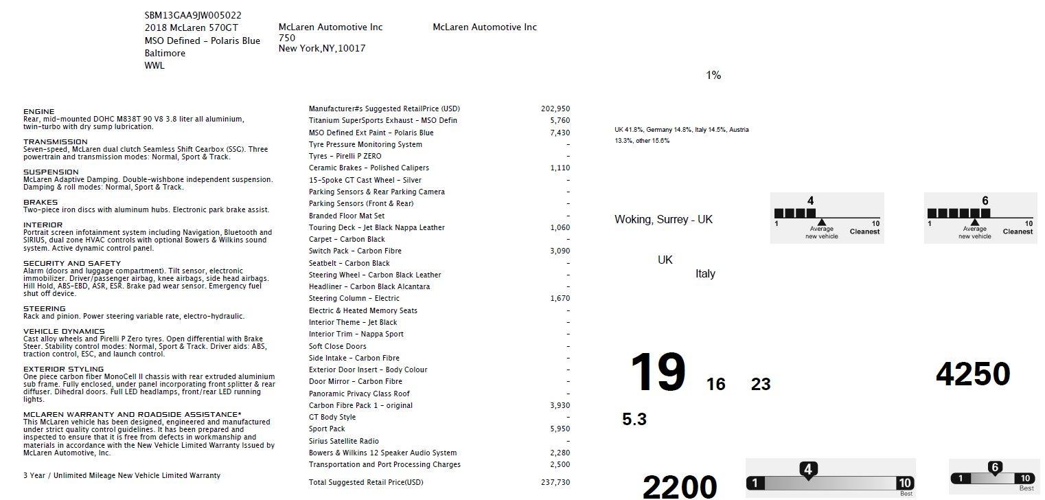 New 2018 McLaren 570GT  For Sale In Greenwich, CT. Alfa Romeo of Greenwich, MC383 2441_p7