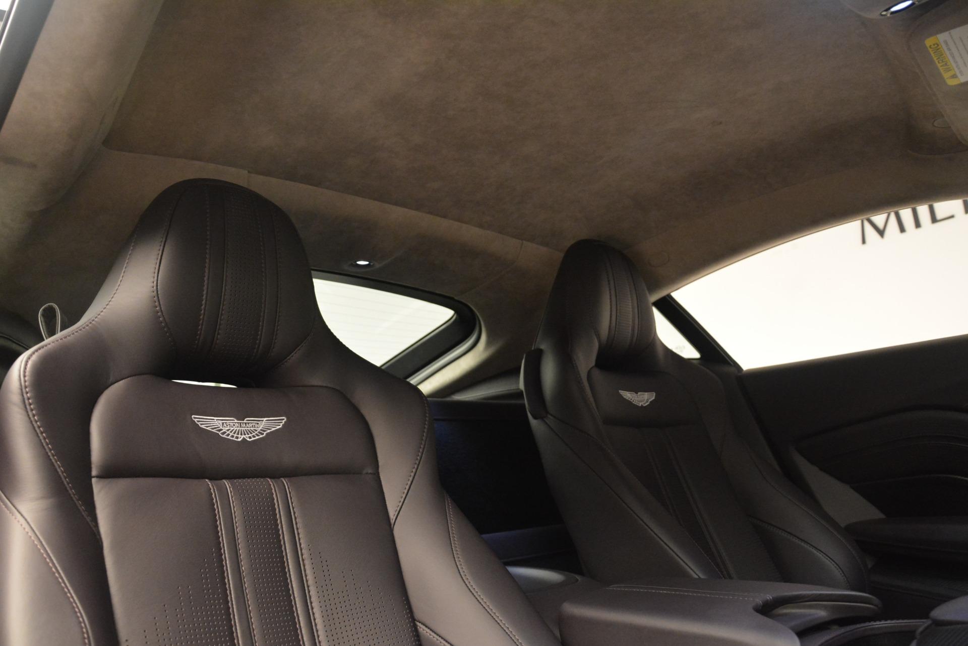New 2019 Aston Martin Vantage  For Sale In Greenwich, CT. Alfa Romeo of Greenwich, A1313 2452_p19