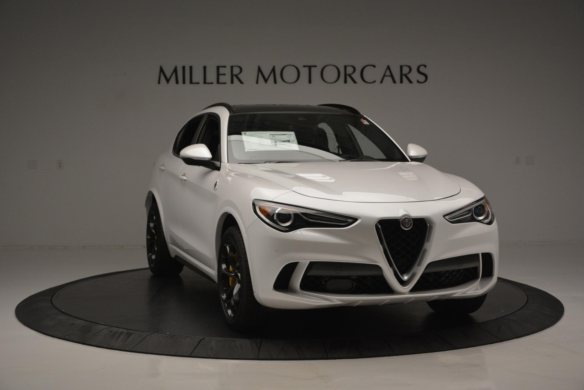 New 2018 Alfa Romeo Stelvio Quadrifoglio Quadrifoglio For Sale In Greenwich, CT. Alfa Romeo of Greenwich, LW222 2456_p15