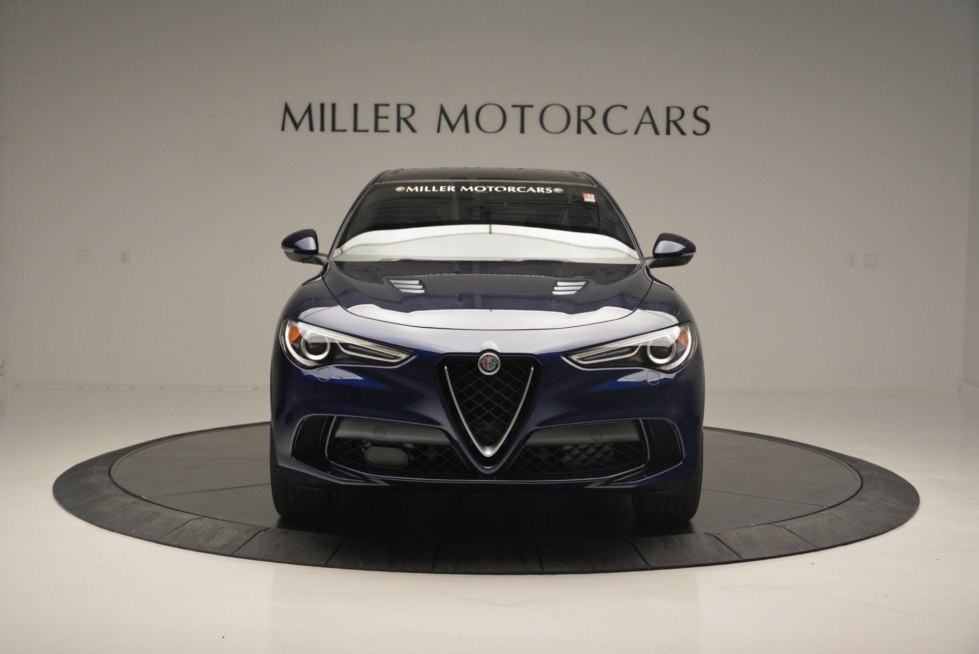 New 2018 Alfa Romeo Stelvio Quadrifoglio For Sale In Greenwich, CT. Alfa Romeo of Greenwich, L461 2458_p12