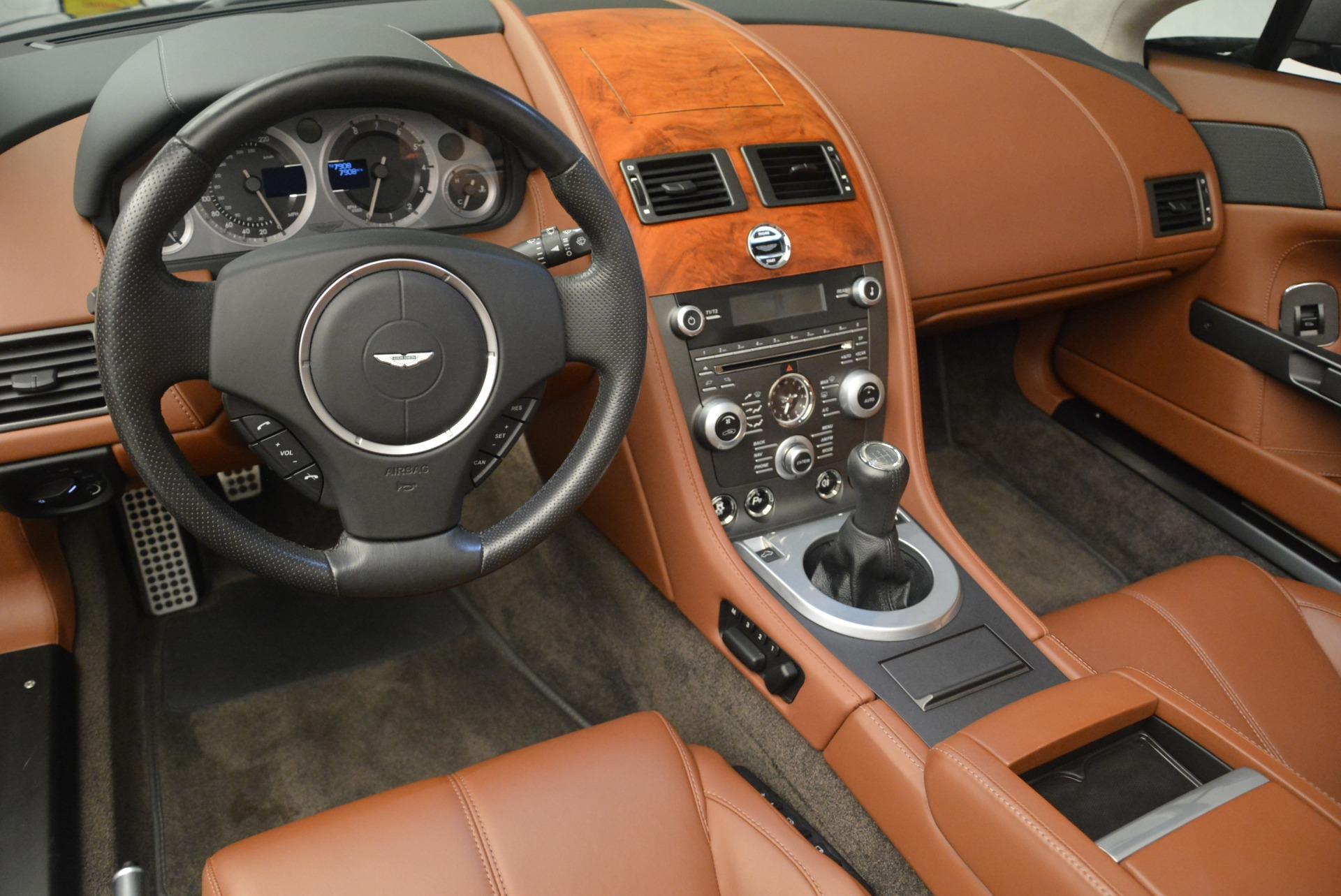 Used 2015 Aston Martin V8 Vantage Roadster For Sale In Greenwich, CT. Alfa Romeo of Greenwich, 7396 2463_p20