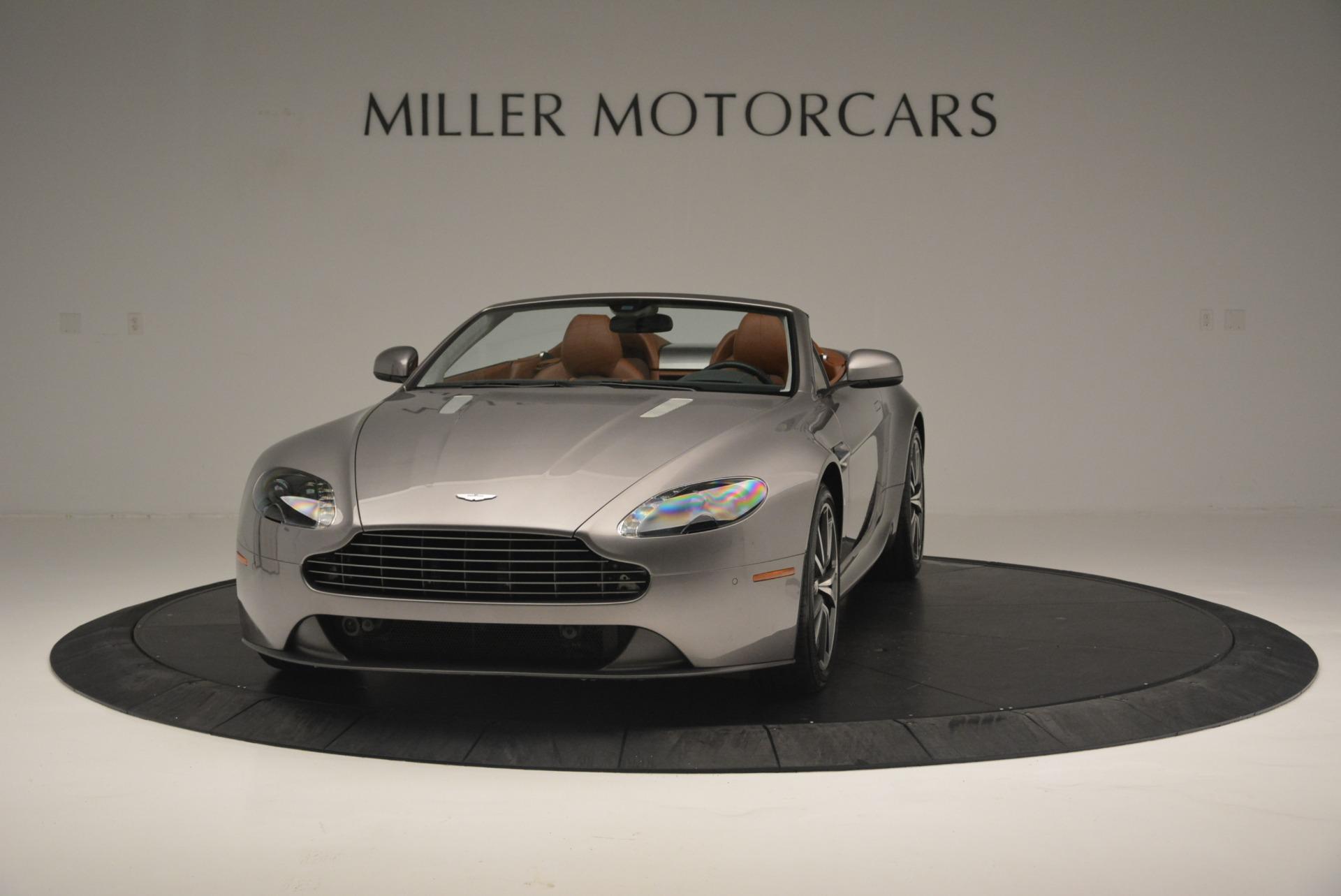 Used 2015 Aston Martin V8 Vantage Roadster For Sale In Greenwich, CT. Alfa Romeo of Greenwich, 7396 2463_p2
