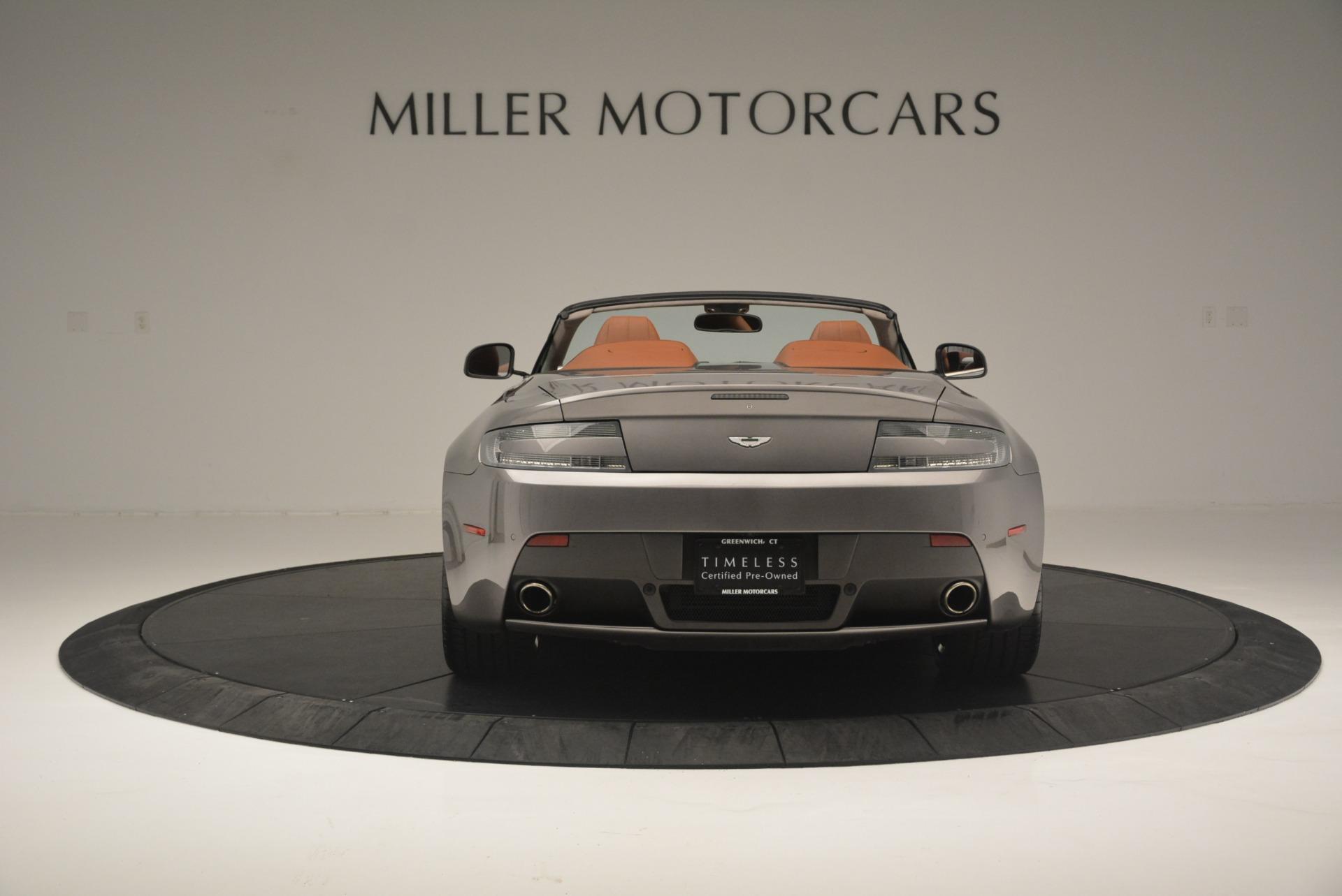Used 2015 Aston Martin V8 Vantage Roadster For Sale In Greenwich, CT. Alfa Romeo of Greenwich, 7396 2463_p6