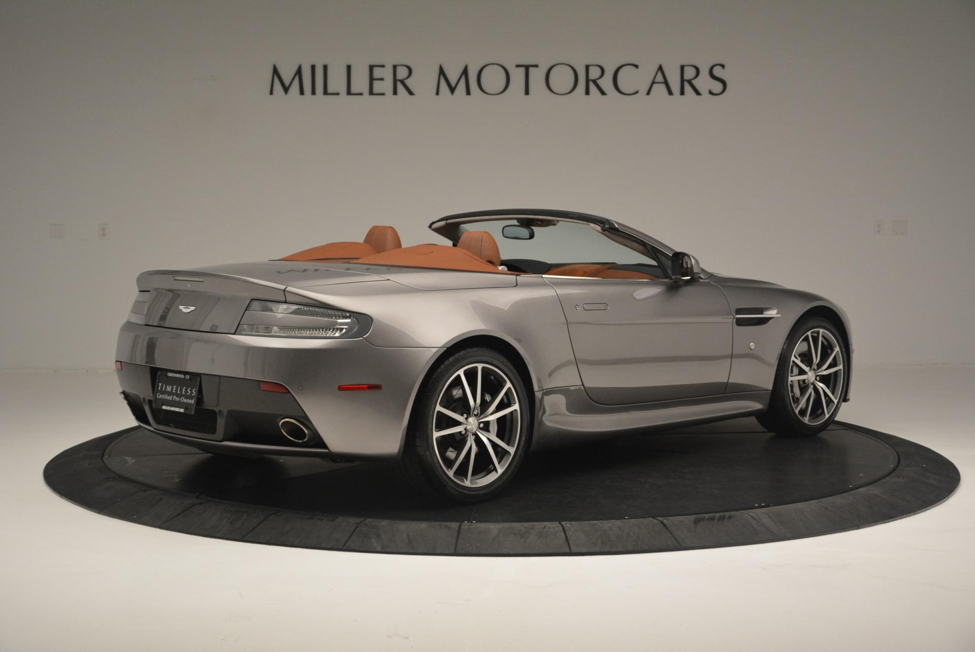 Used 2015 Aston Martin V8 Vantage Roadster For Sale In Greenwich, CT. Alfa Romeo of Greenwich, 7396 2463_p8