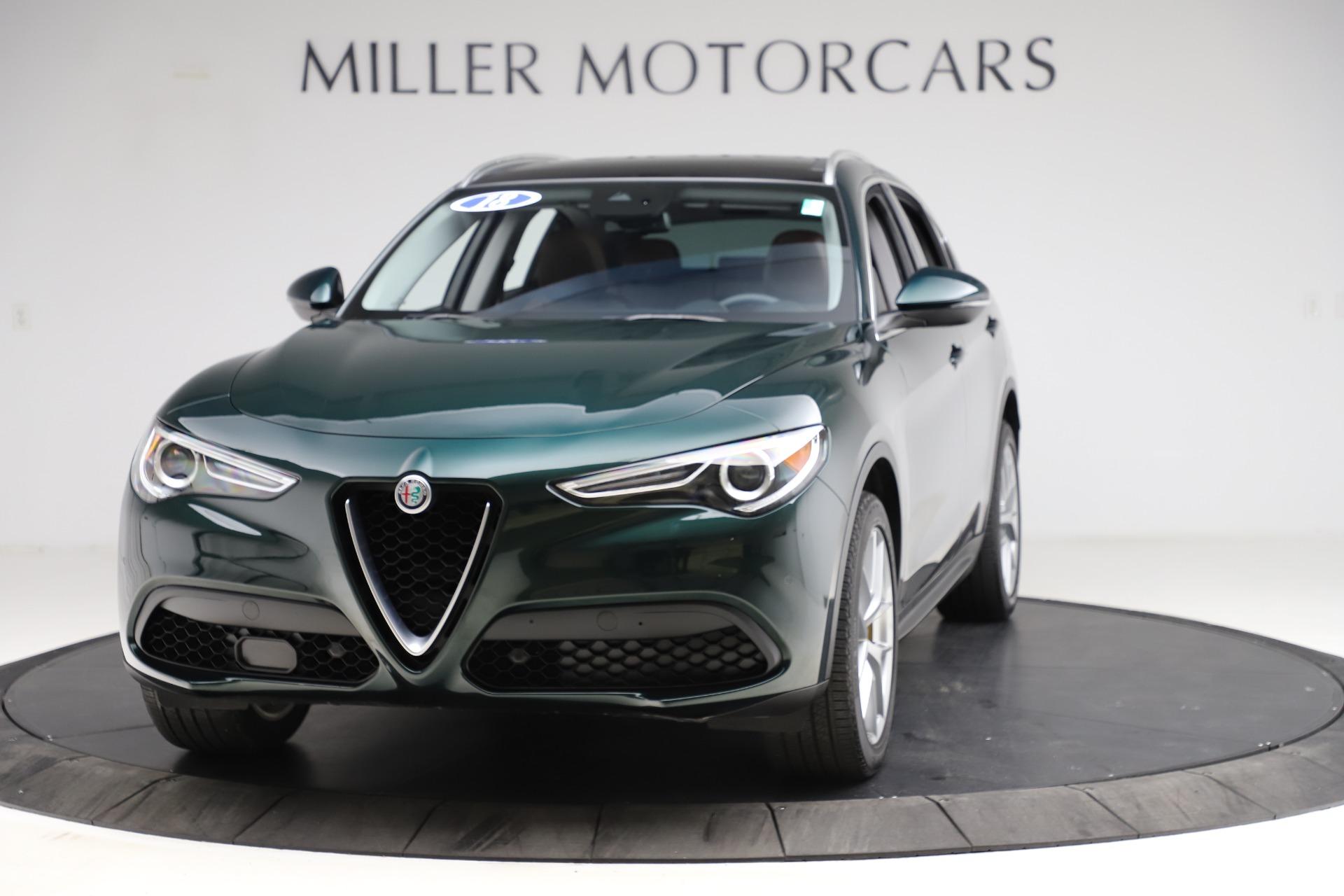 New 2018 Alfa Romeo Stelvio Ti Q4 For Sale In Greenwich, CT. Alfa Romeo of Greenwich, LW230 2479_main