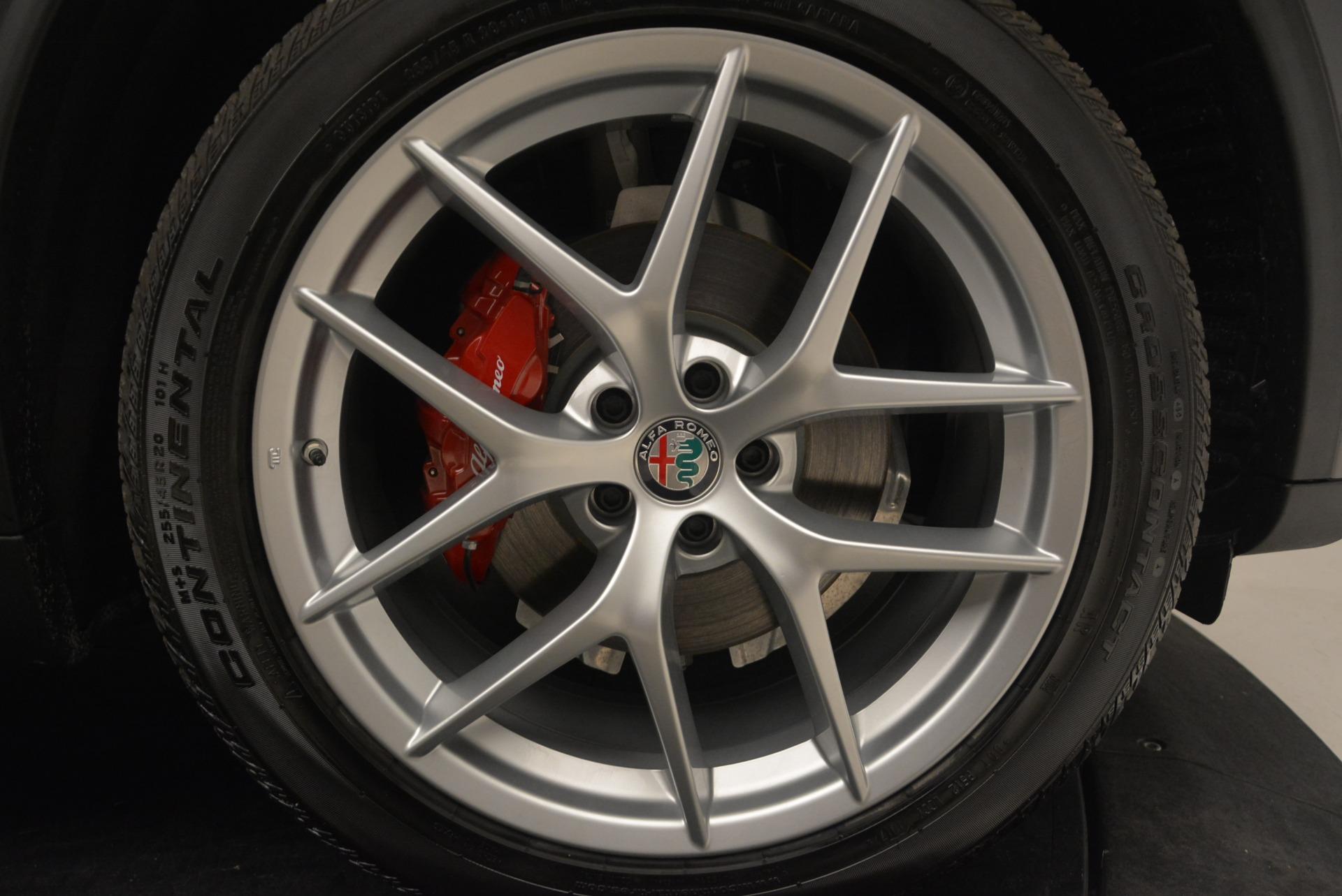 New 2018 Alfa Romeo Stelvio Ti Q4 For Sale In Greenwich, CT. Alfa Romeo of Greenwich, LW231 2480_p25
