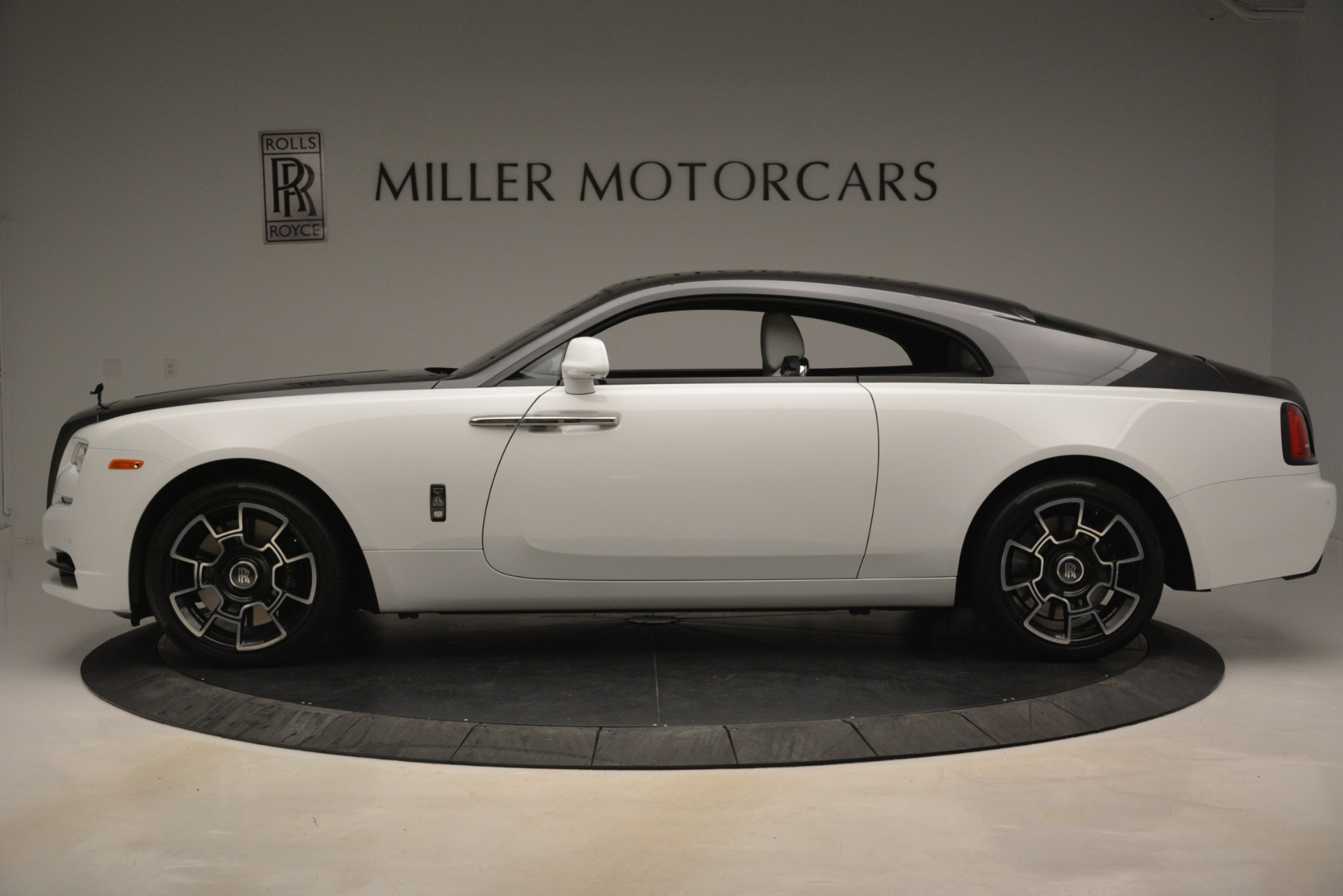 Used 2018 Rolls-Royce Wraith Black Badge Nebula Collection For Sale In Greenwich, CT. Alfa Romeo of Greenwich, R523 2491_p3