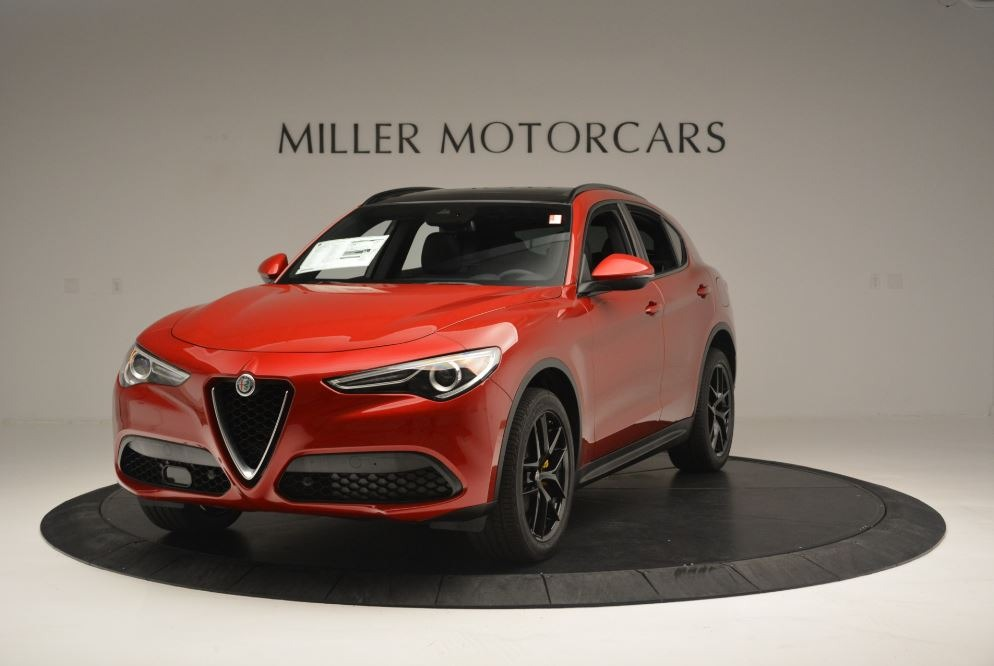 New 2018 Alfa Romeo Stelvio Ti Sport Q4 For Sale In Greenwich, CT. Alfa Romeo of Greenwich, LW313