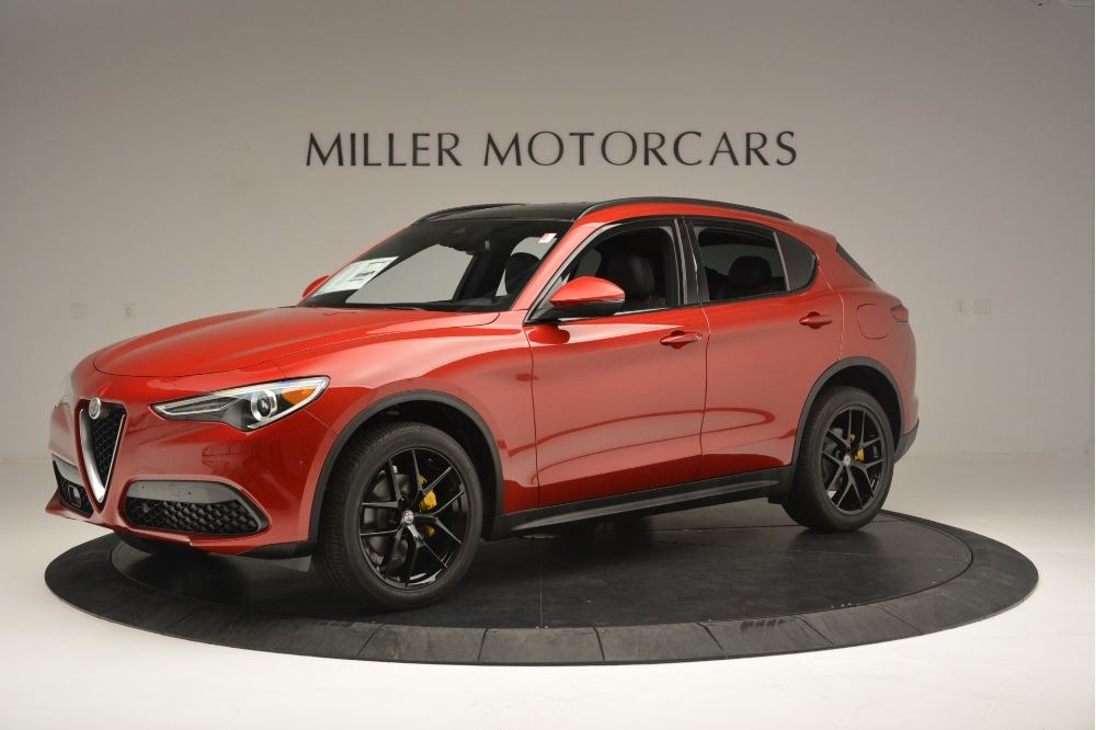 New 2018 Alfa Romeo Stelvio Ti Sport Q4 For Sale In Greenwich, CT. Alfa Romeo of Greenwich, LW313 2512_p2