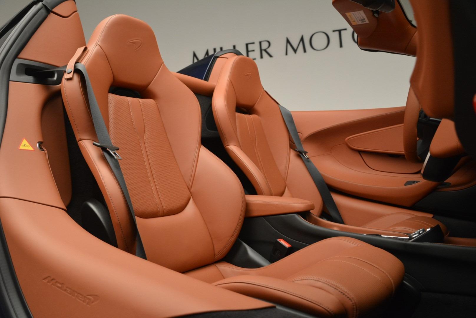 New 2019 McLaren 570S Spider Convertible For Sale In Greenwich, CT. Alfa Romeo of Greenwich, MC377 2521_p27