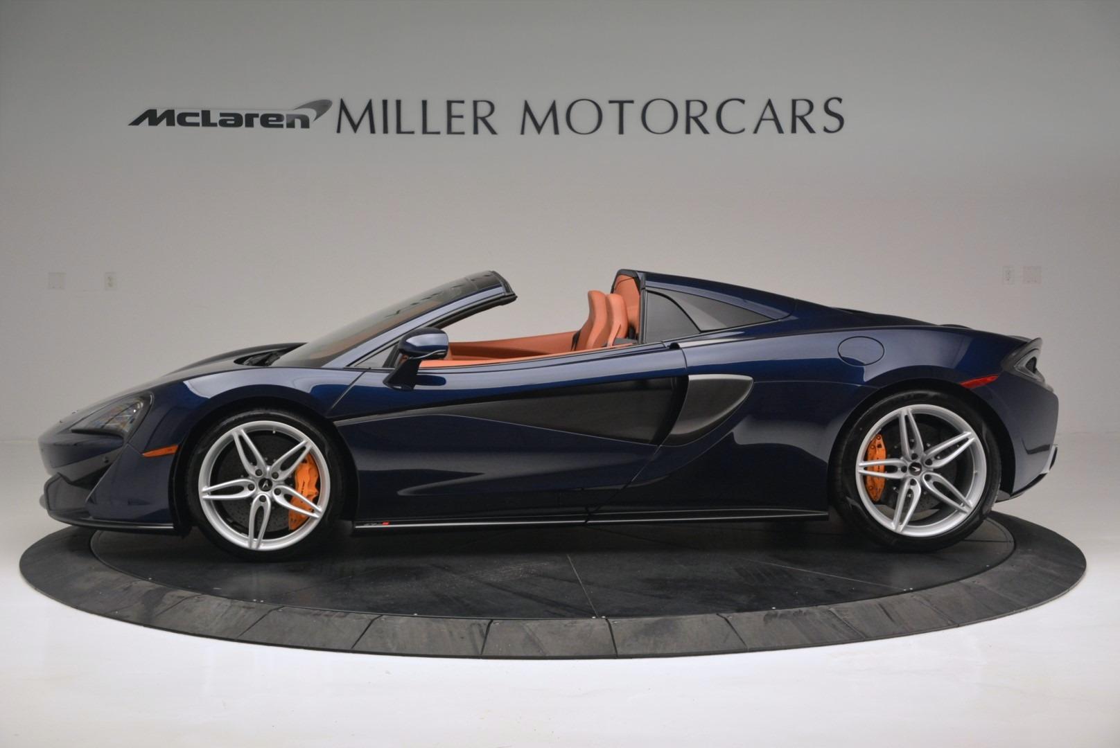New 2019 McLaren 570S Spider Convertible For Sale In Greenwich, CT. Alfa Romeo of Greenwich, MC377 2521_p3